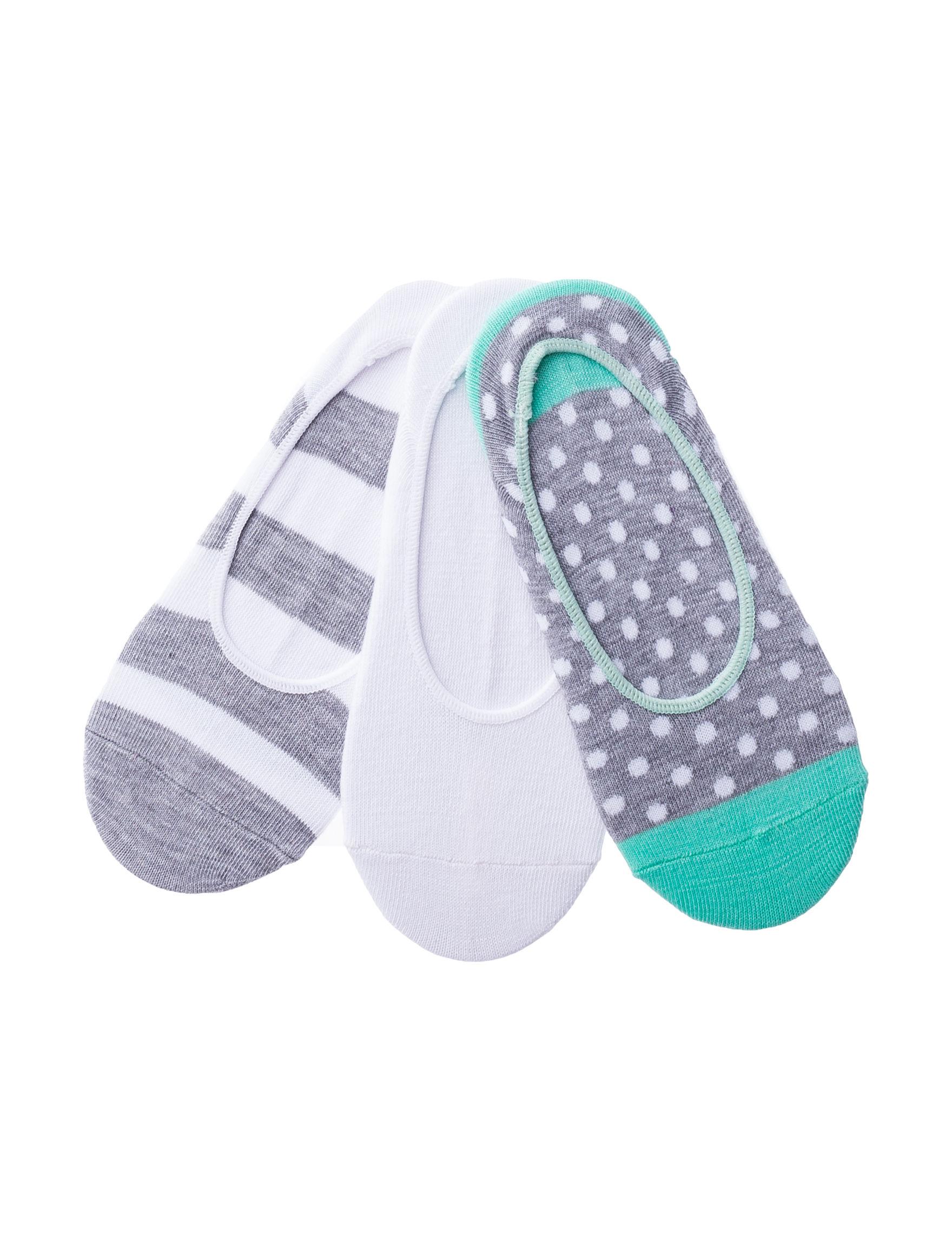 Sox & Co Grey / Green Socks