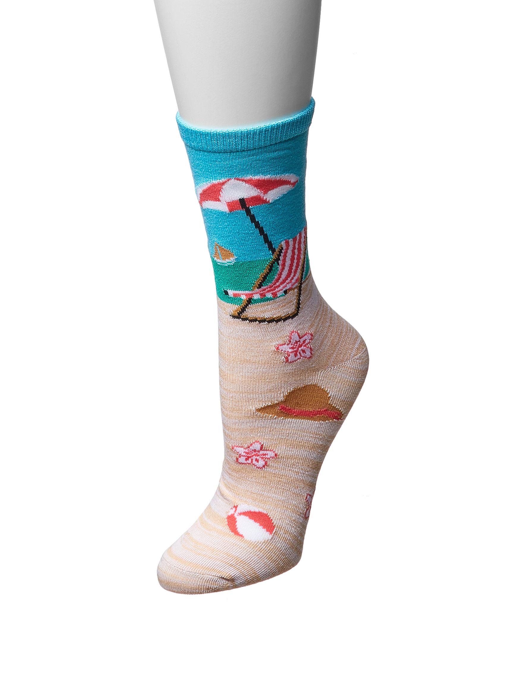 Sox & Co Beige Socks