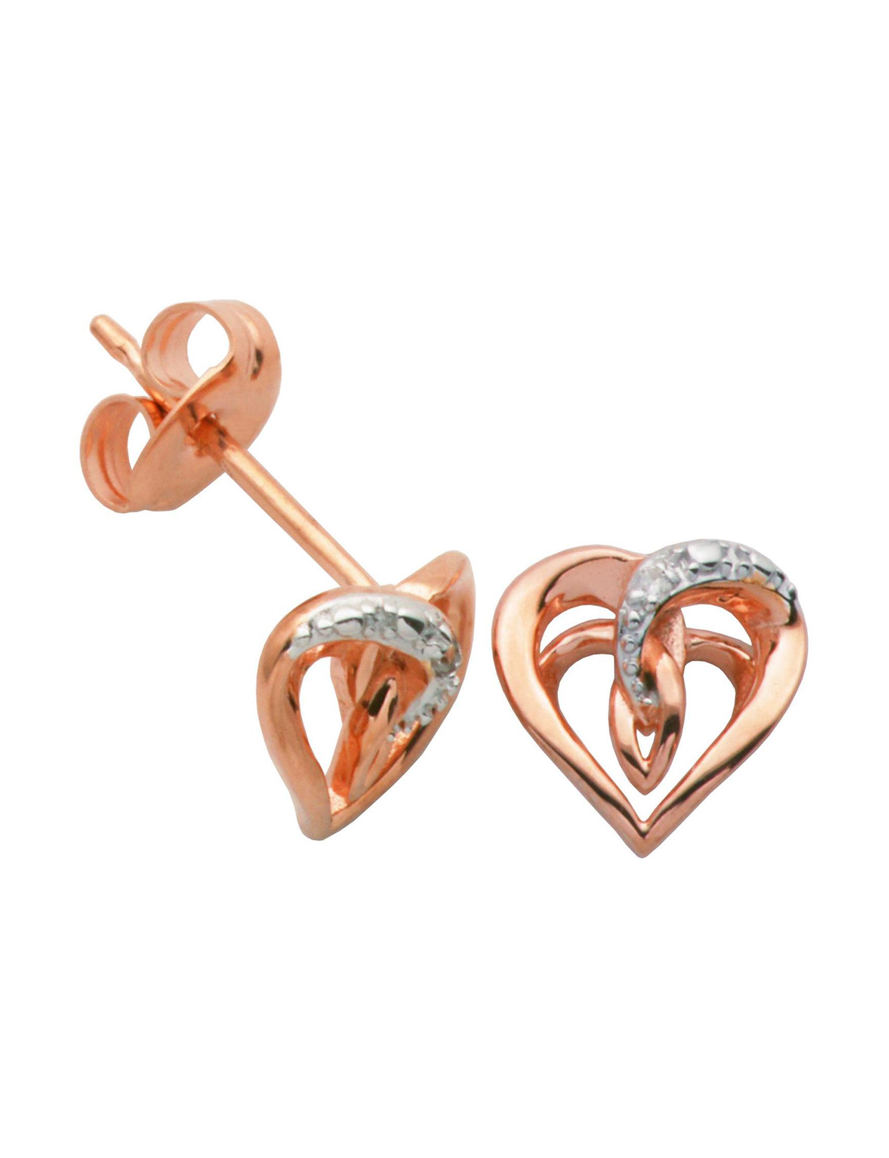 PAJ INC. Rose Gold Earrings Fine Jewelry