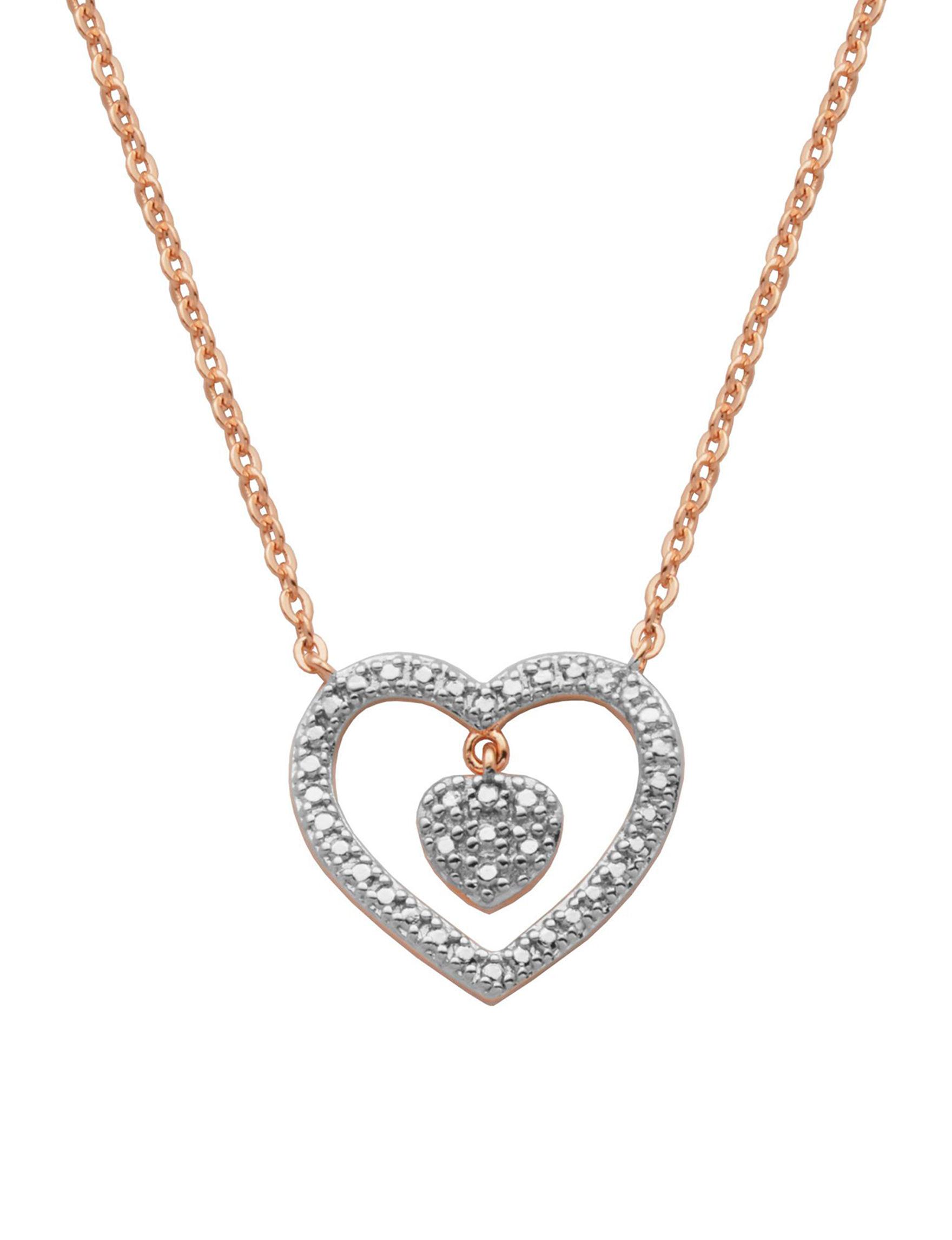 PAJ INC. Two Tone Necklaces & Pendants Fine Jewelry