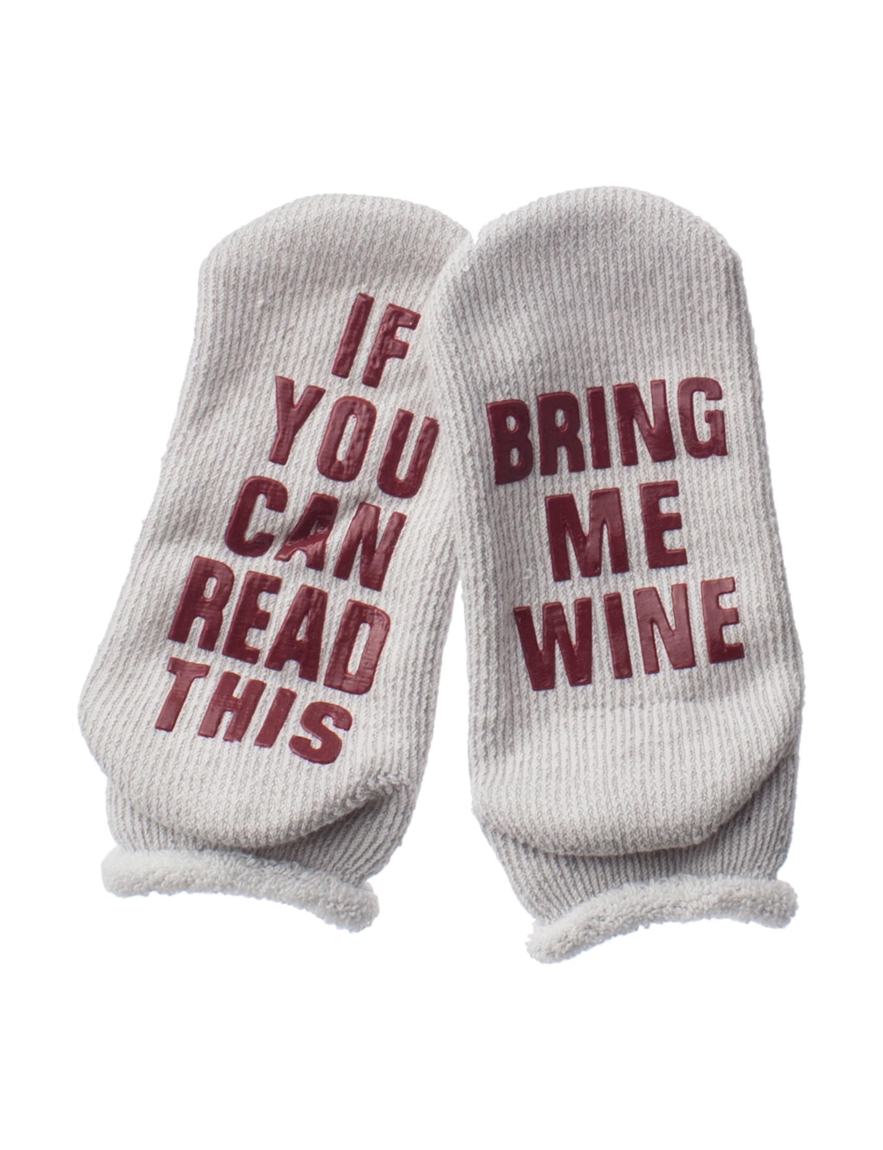 Keep Your Socks On Grey Multi Socks