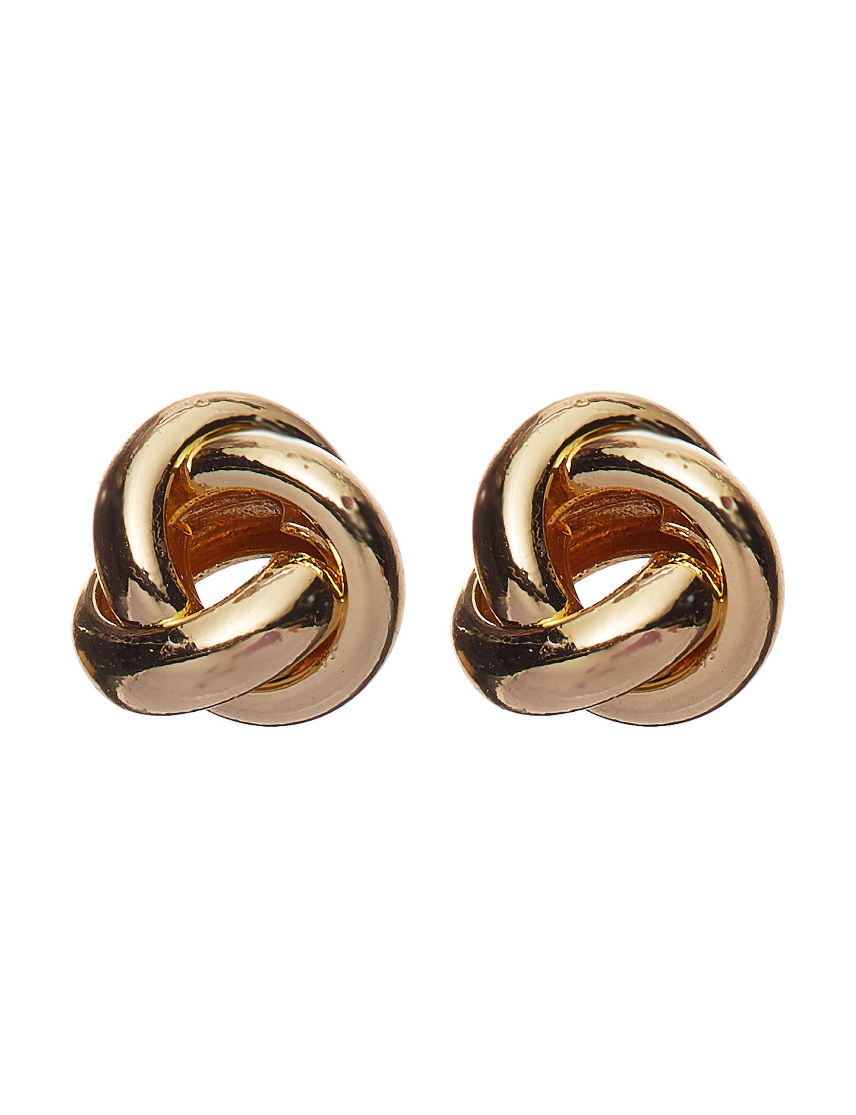 Roman Gold Studs Earrings Fashion Jewelry