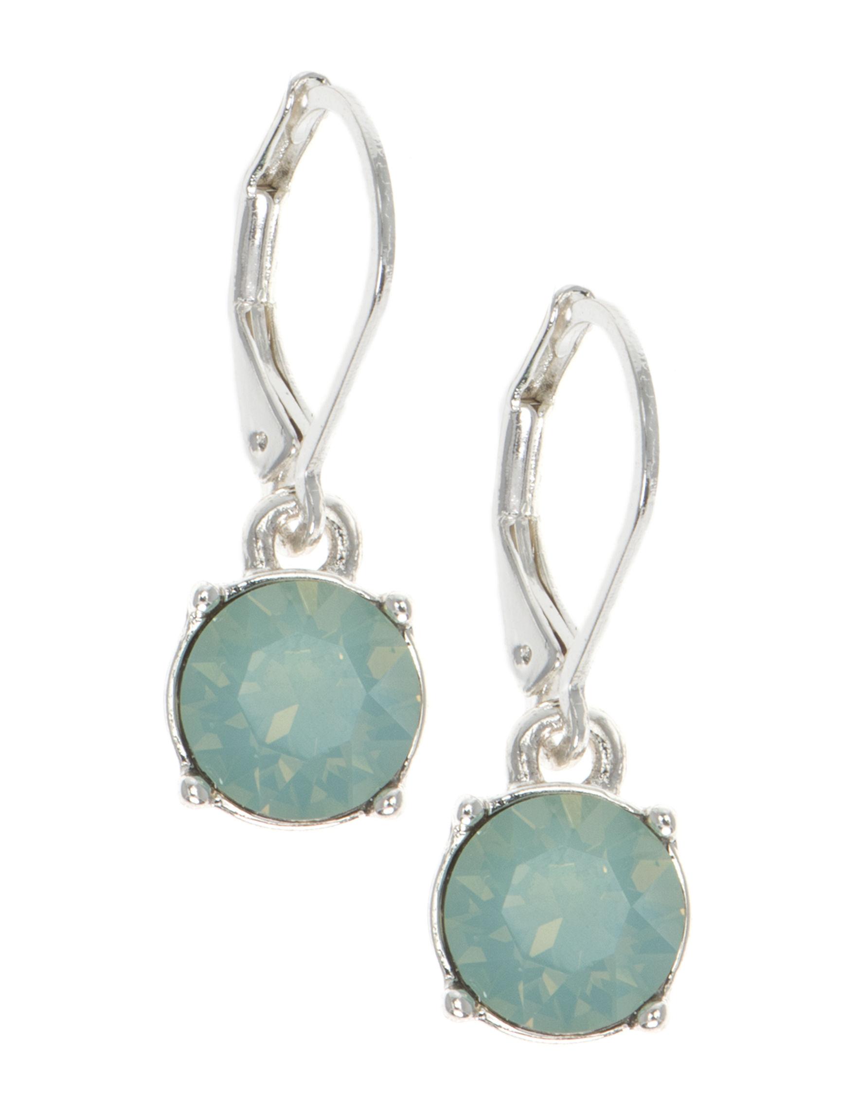 Gloria Vanderbilt Silver Drops Earrings Fashion Jewelry