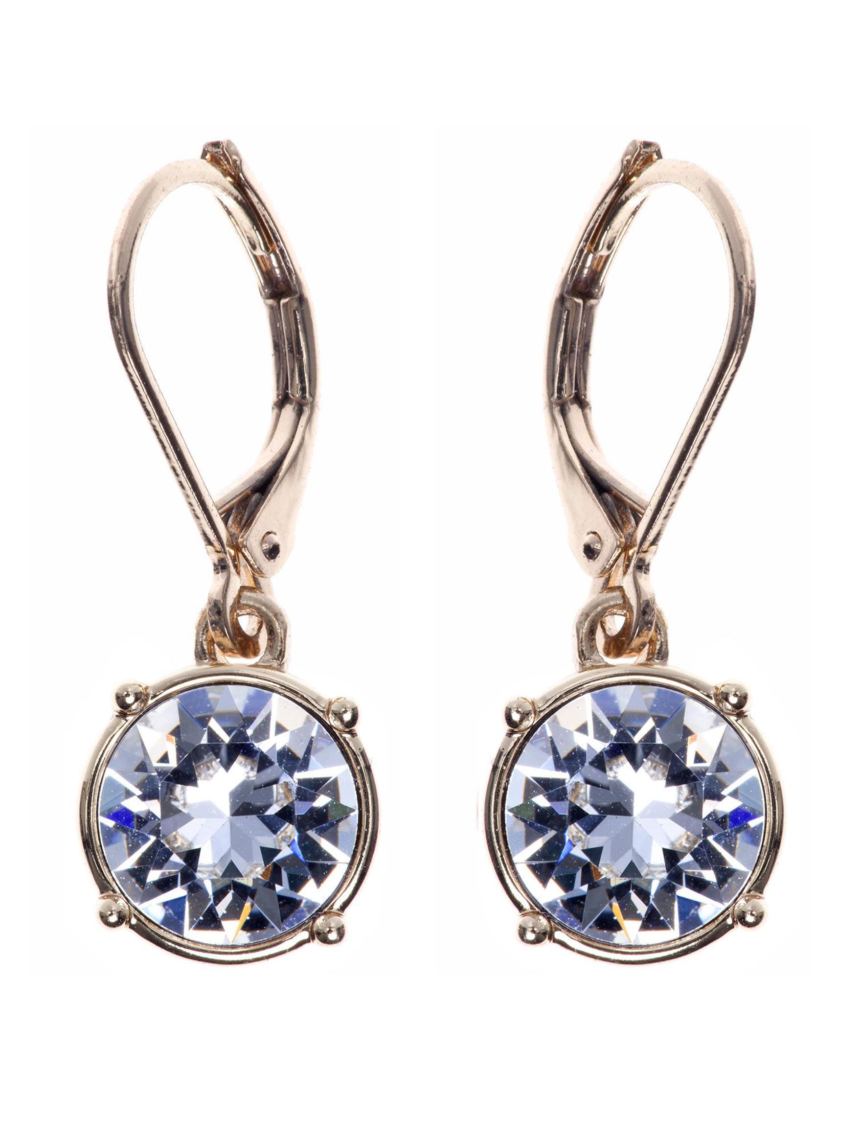 Gloria Vanderbilt Gold Drops Earrings Fashion Jewelry
