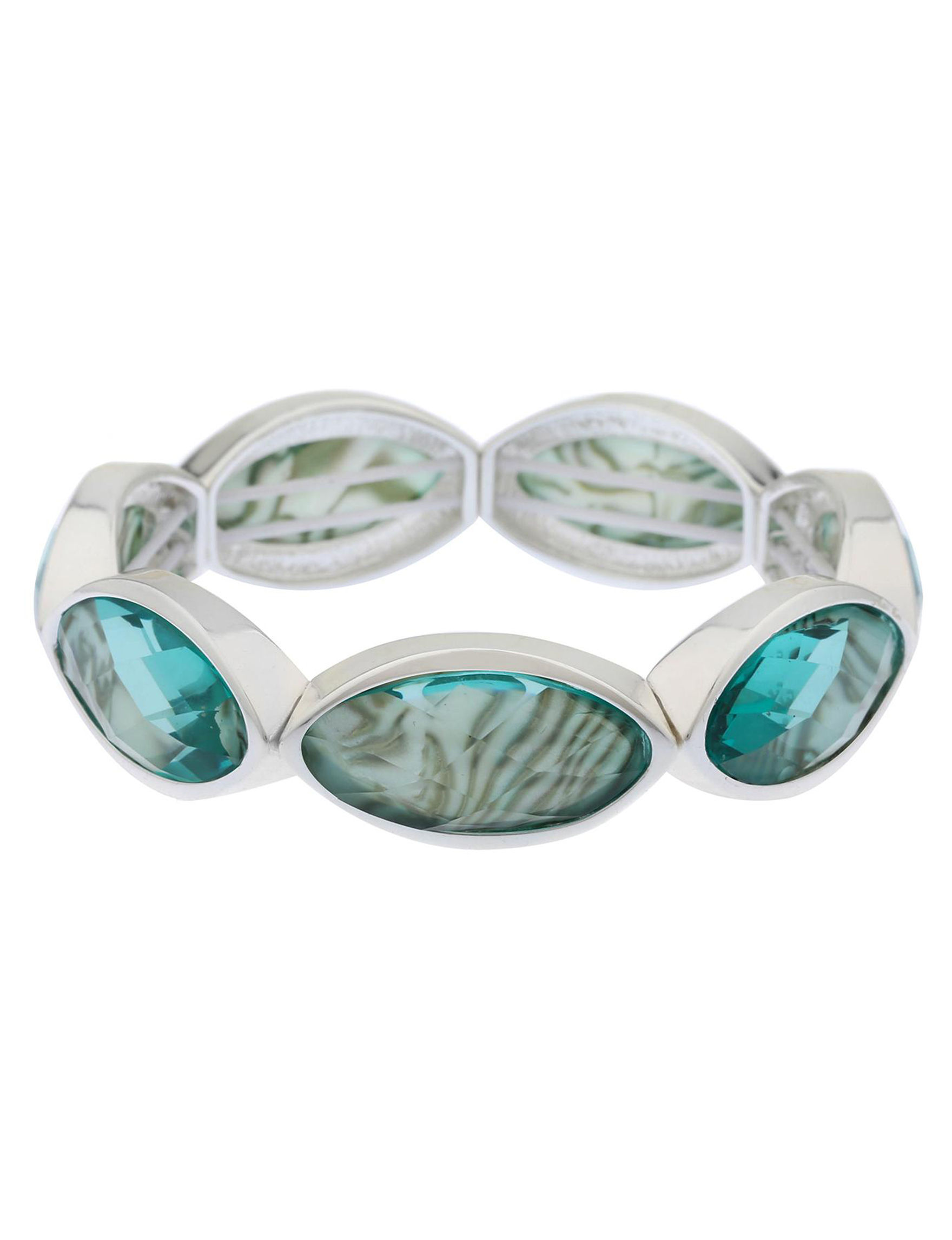 Gloria Vanderbilt Blue / Silver Bracelets Fashion Jewelry