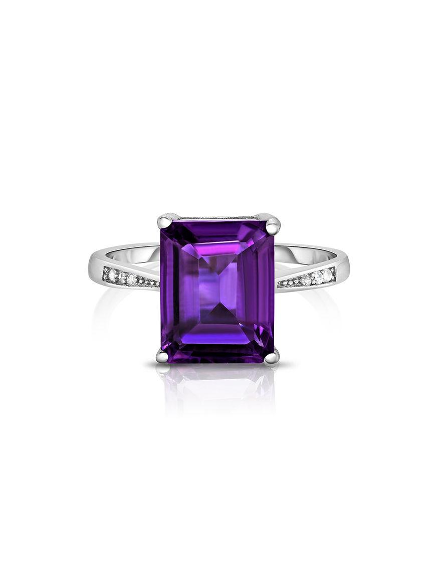 Yedid International Amethyst Rings Fine Jewelry