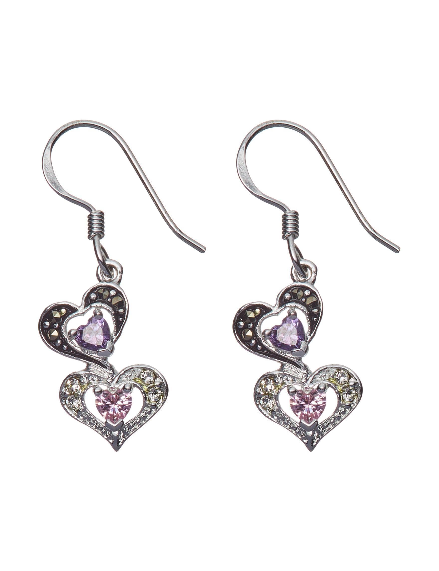 Marsala Multi Drops Earrings Fine Jewelry