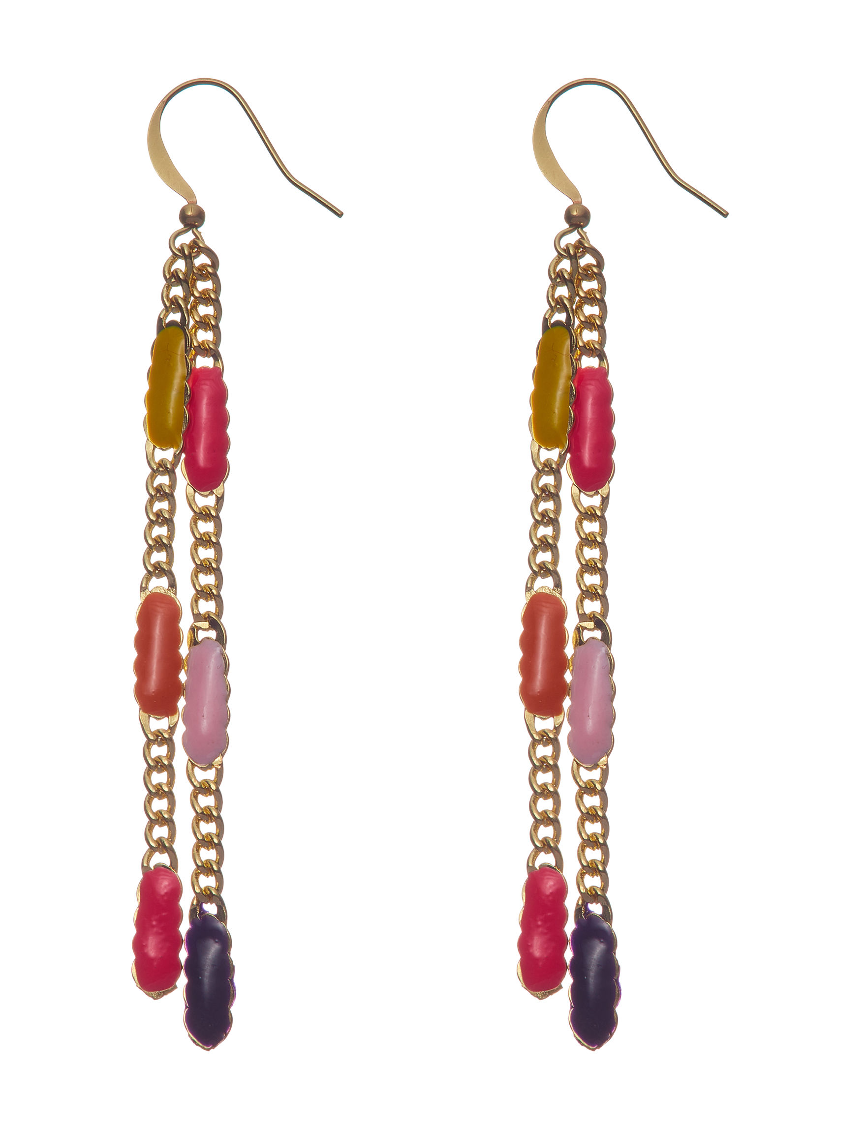 Hannah Multi Drops Earrings Fashion Jewelry