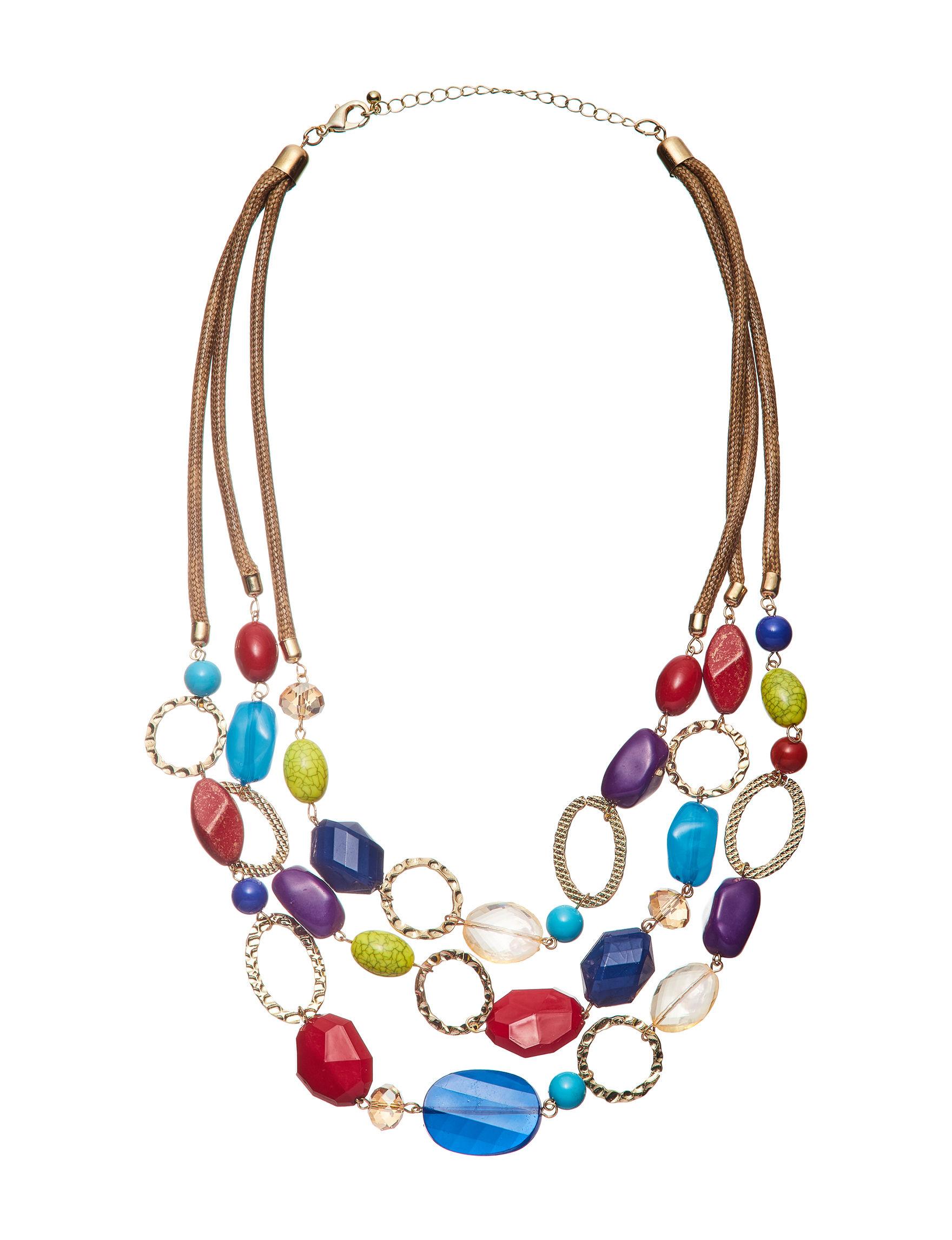 Hannah Multi Necklaces & Pendants Fashion Jewelry