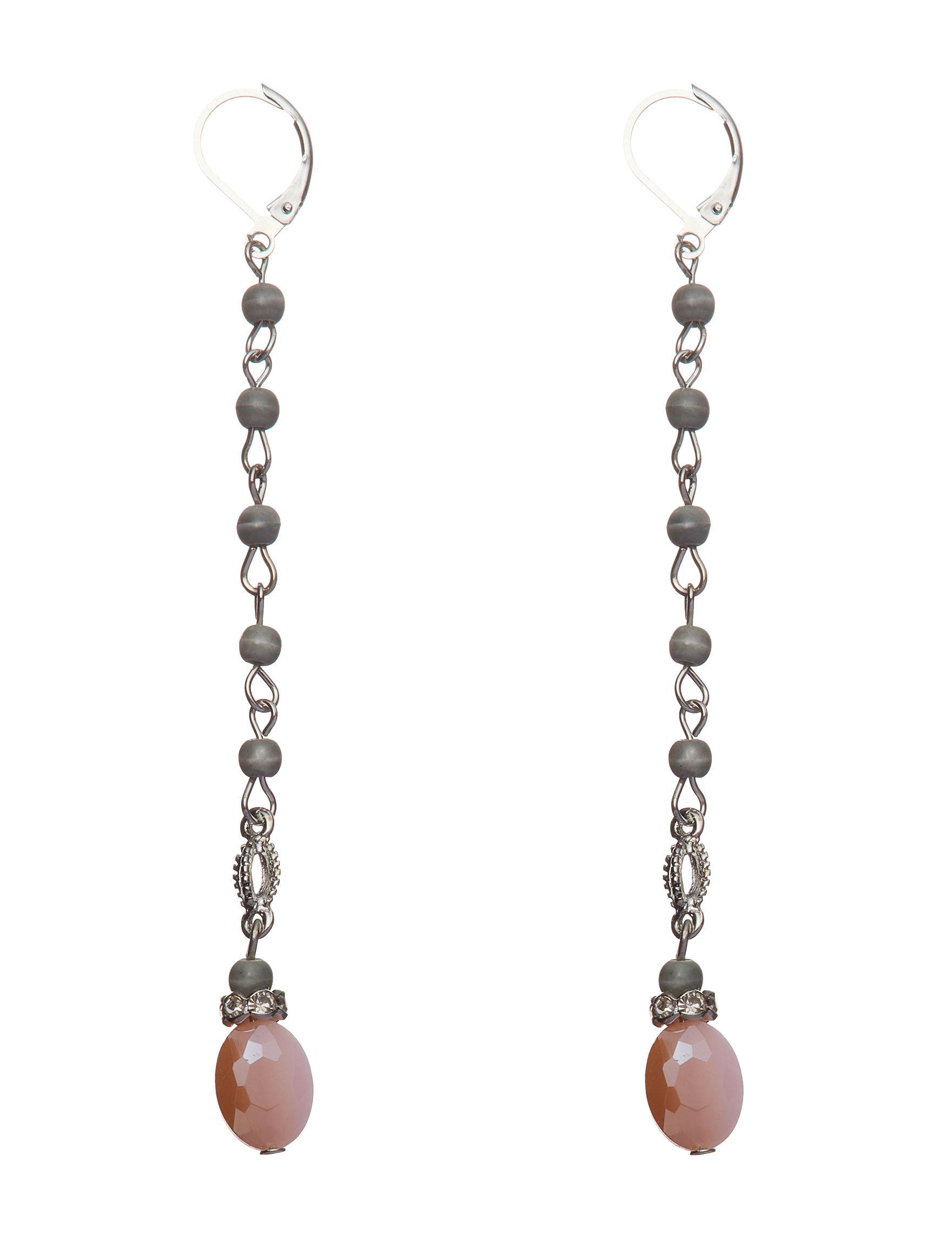 Hannah Grey Multi Earrings Fashion Jewelry