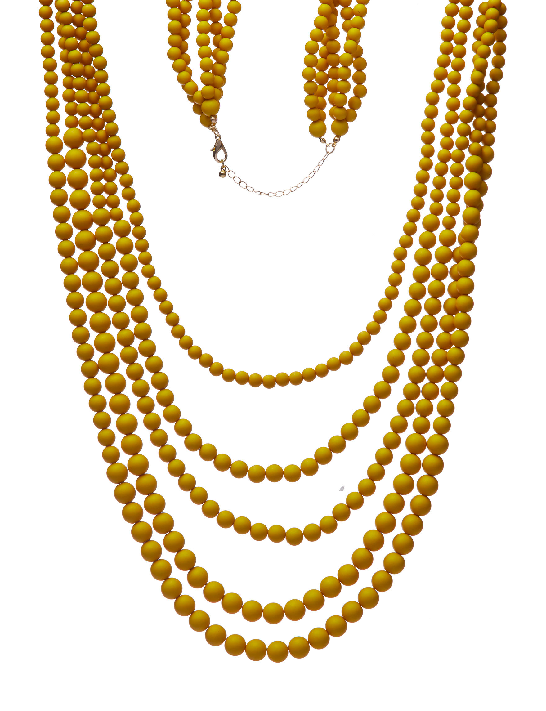 Hannah Yellow Necklaces & Pendants Fashion Jewelry
