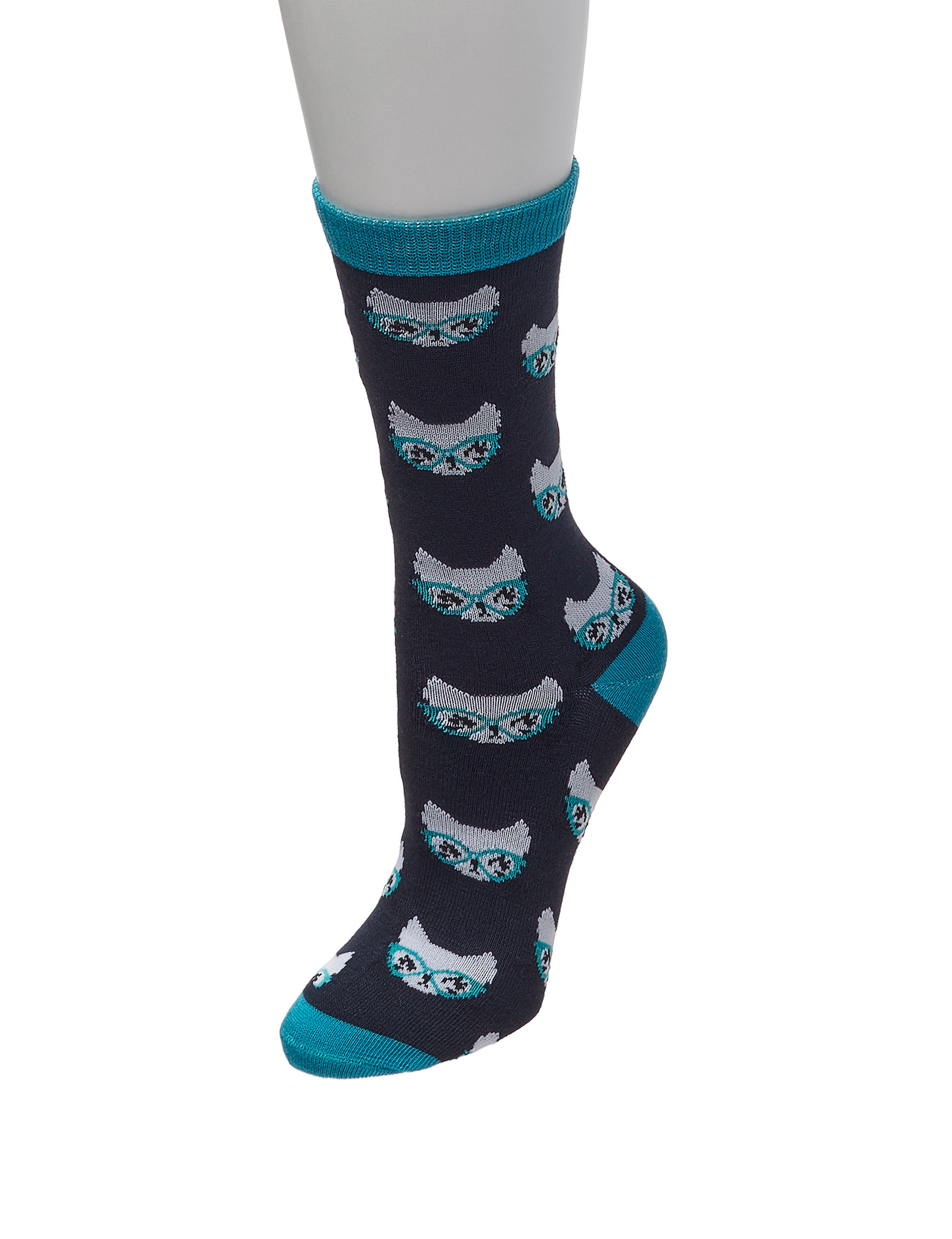 Sox & Co Navy Multi Socks