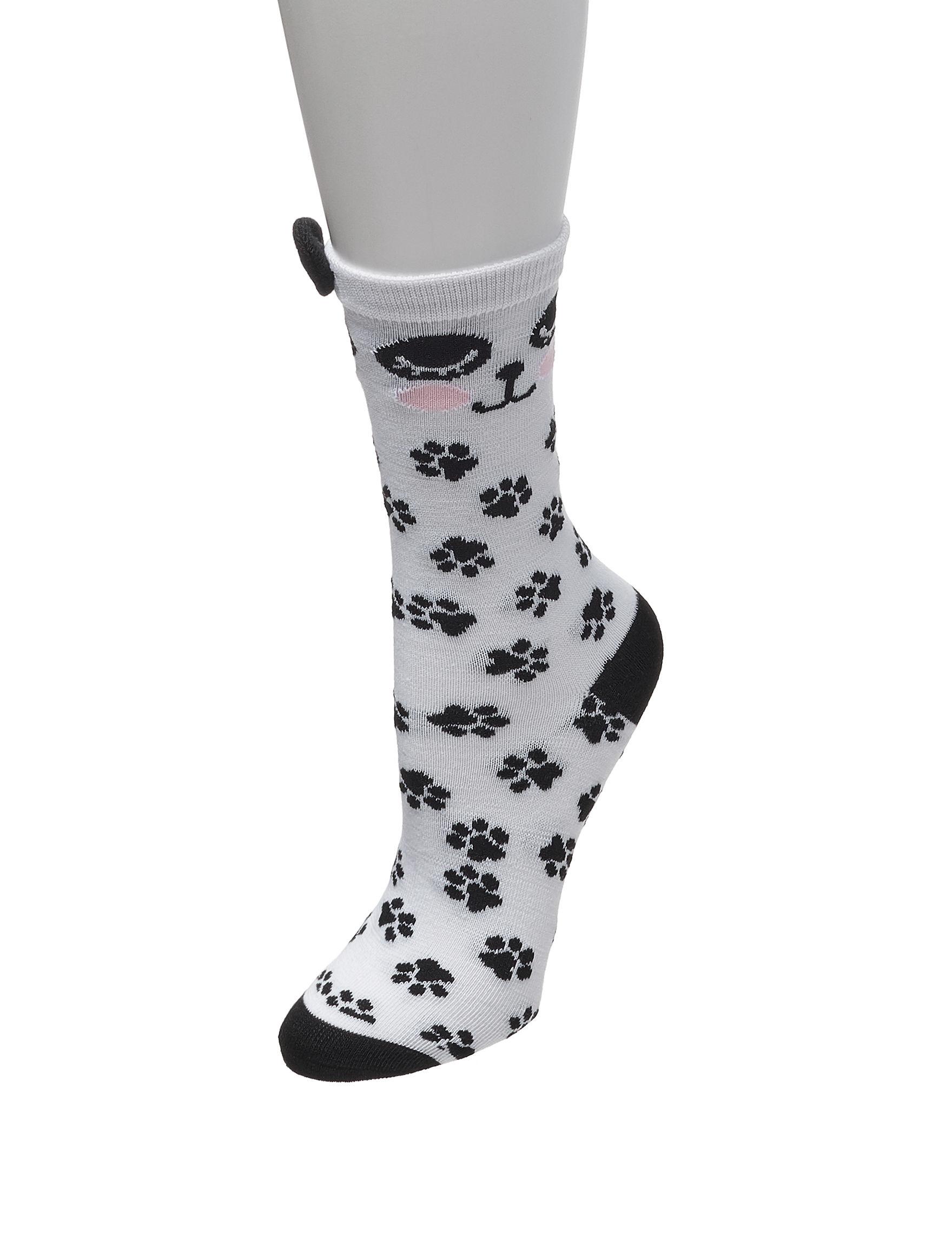 Sox & Co White Multi Socks