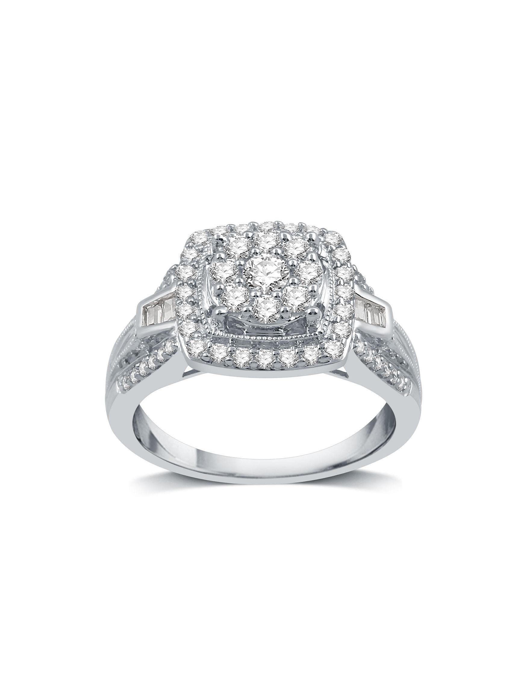 Allure Silver Rings Fine Jewelry
