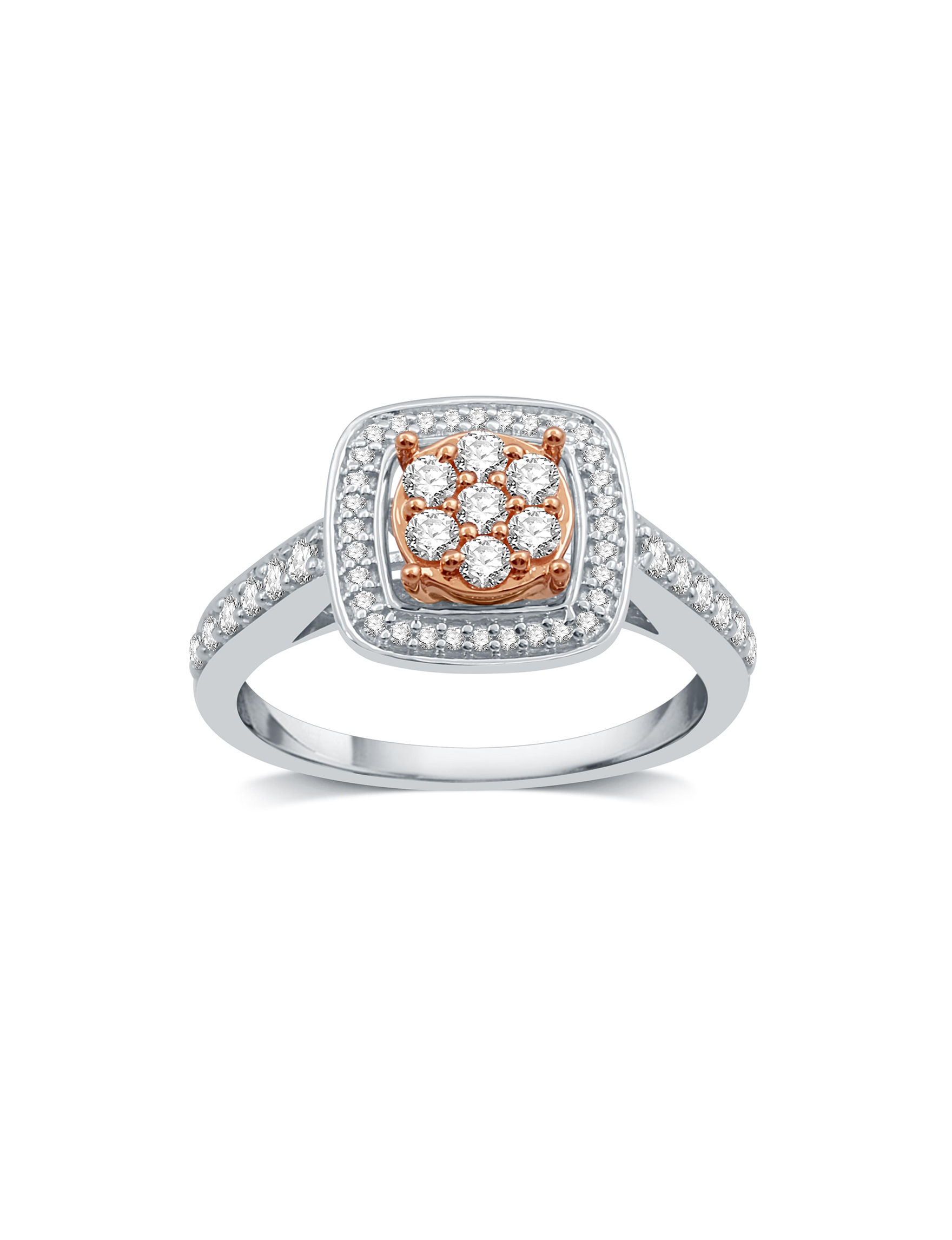Allure Two Tone Rings Fine Jewelry