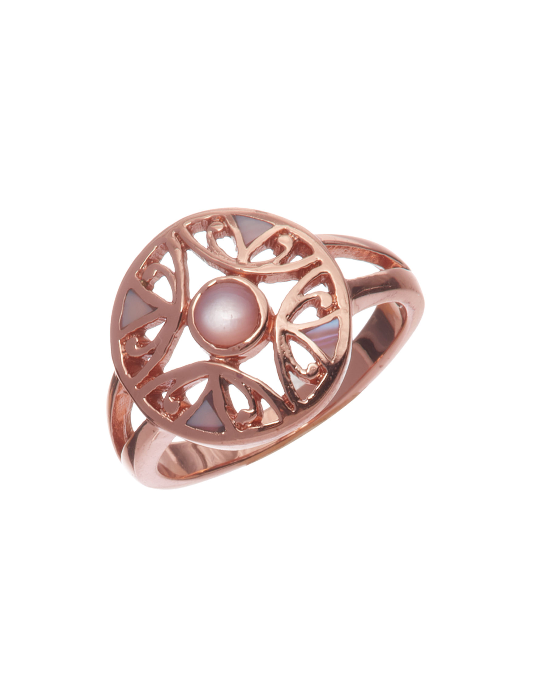 Marsala Rose Gold Rings Fine Jewelry