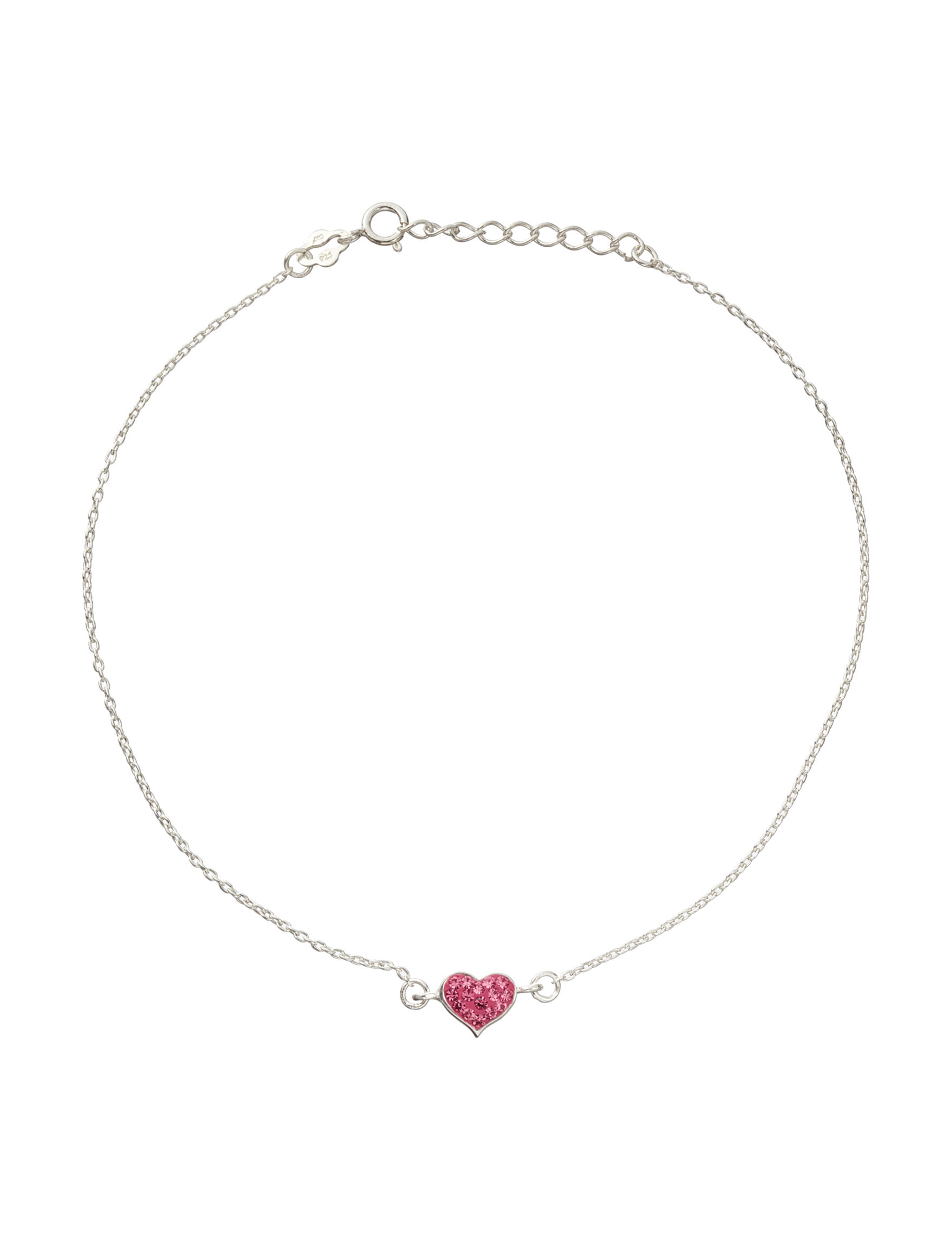 Marsala Pink Anklets Fine Jewelry