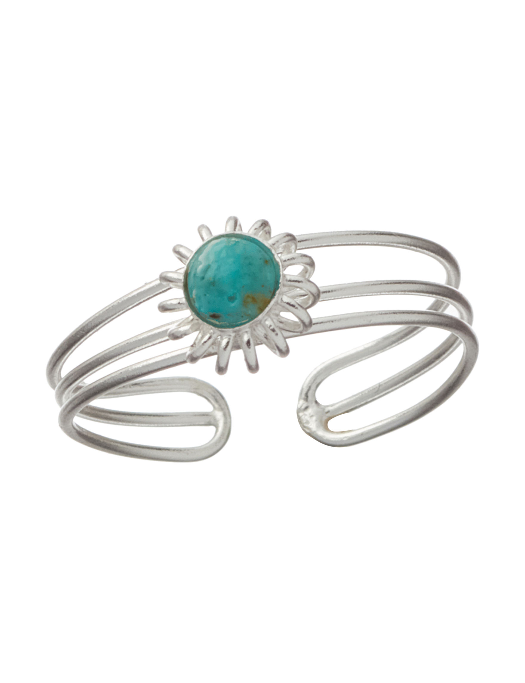 Marsala Turquoise Toe Rings Fine Jewelry