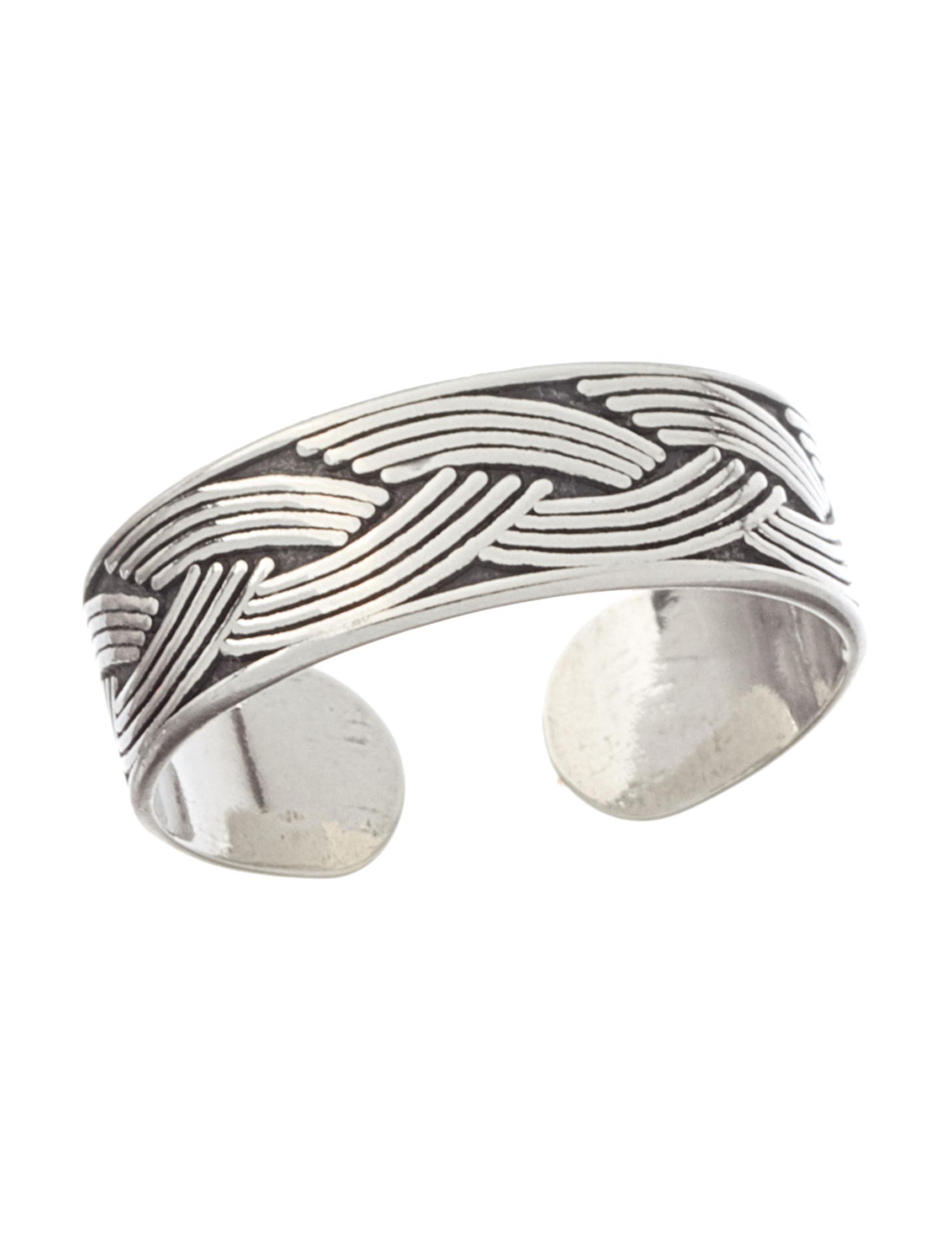 Marsala Silver Toe Rings Fine Jewelry