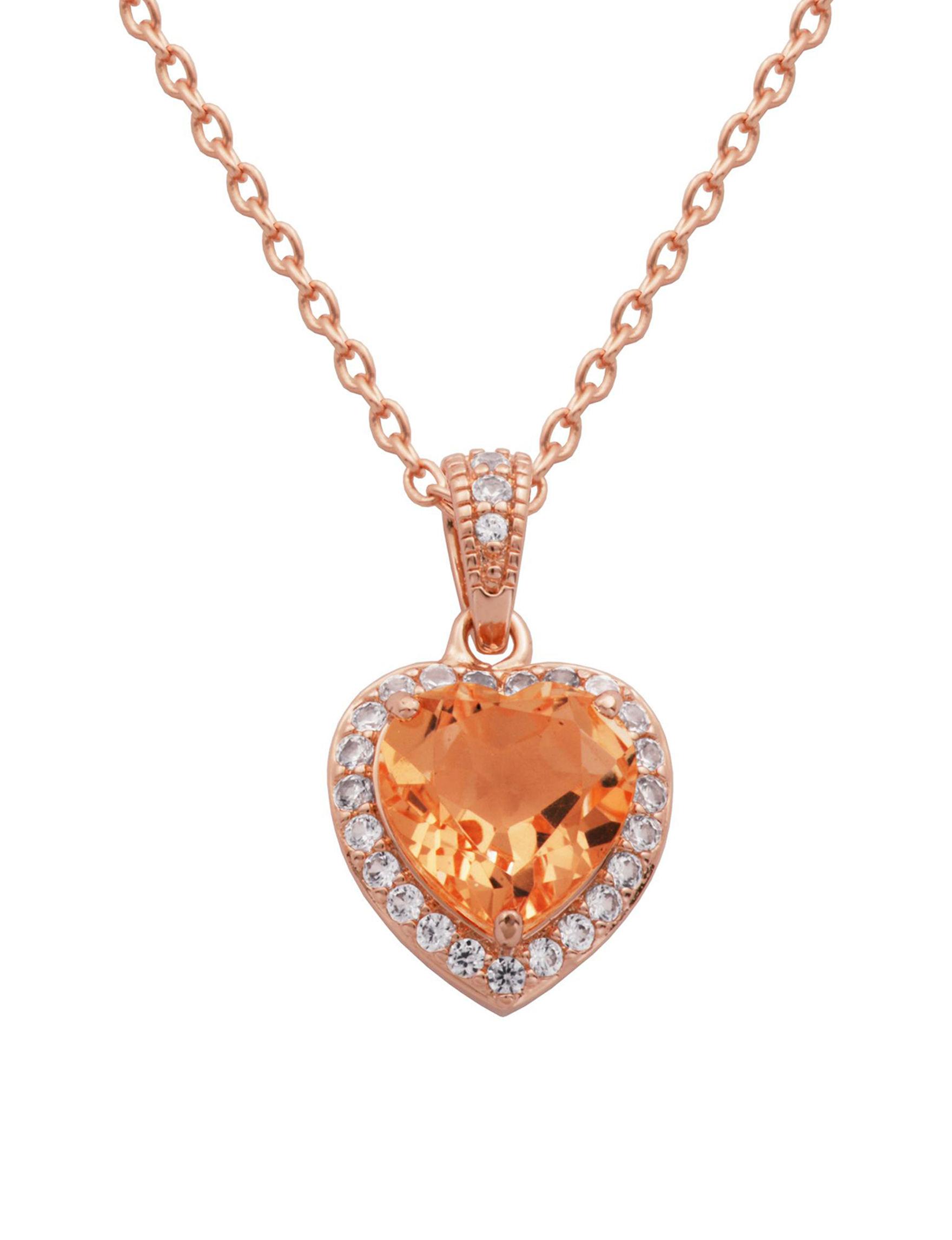 PAJ INC. Pink Necklaces & Pendants Fine Jewelry