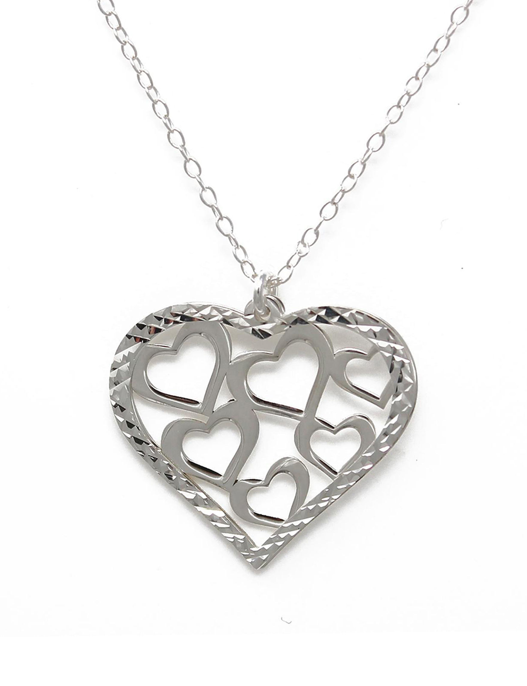 L & J Sterling Silver Necklaces & Pendants Fine Jewelry