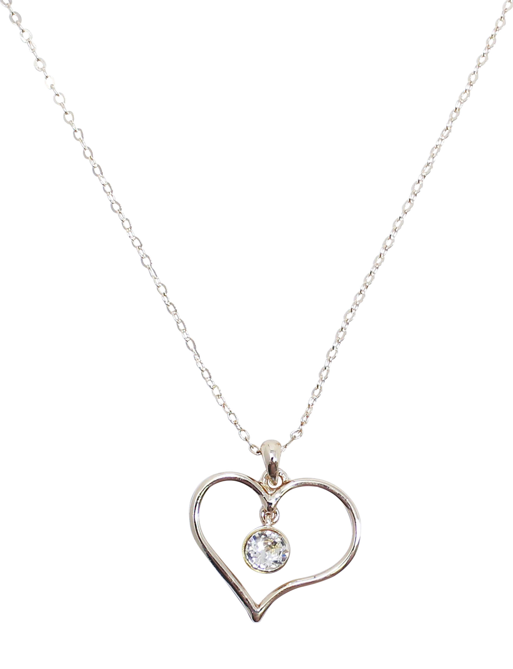 L & J Crystal Necklaces & Pendants Fine Jewelry