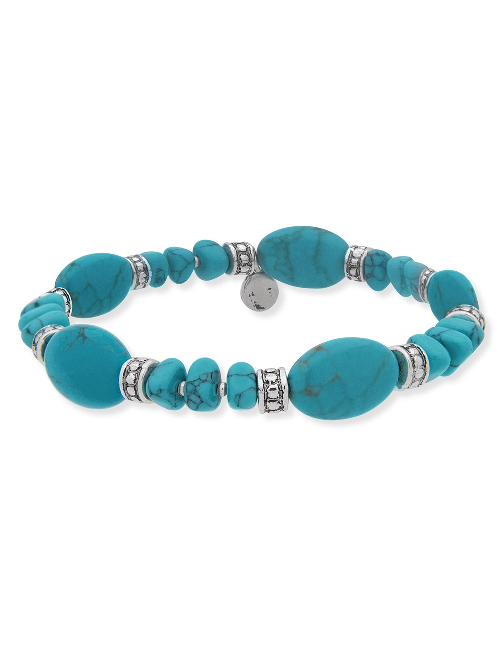 Chaps Turquoise Bracelets Fashion Jewelry