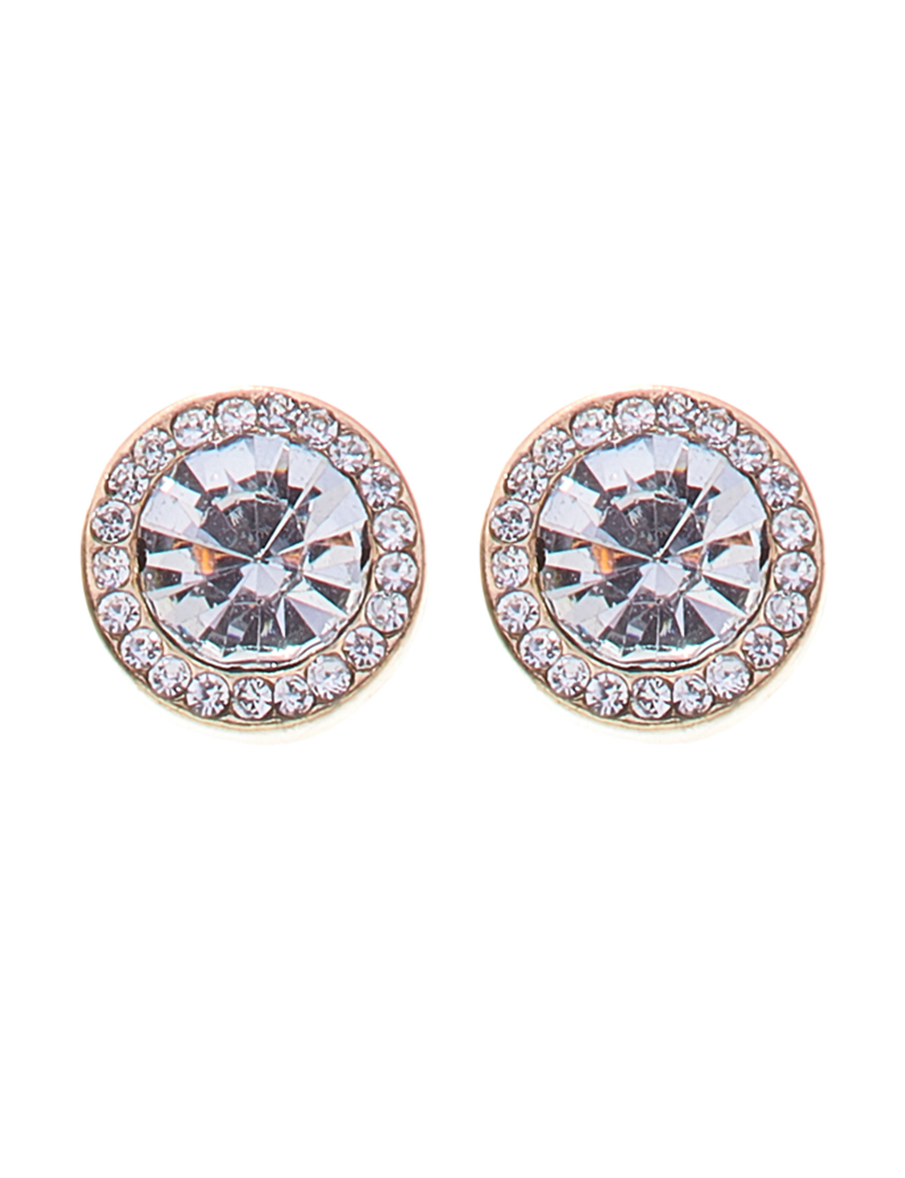 Hannah Gold / Crystal Studs Earrings Fashion Jewelry
