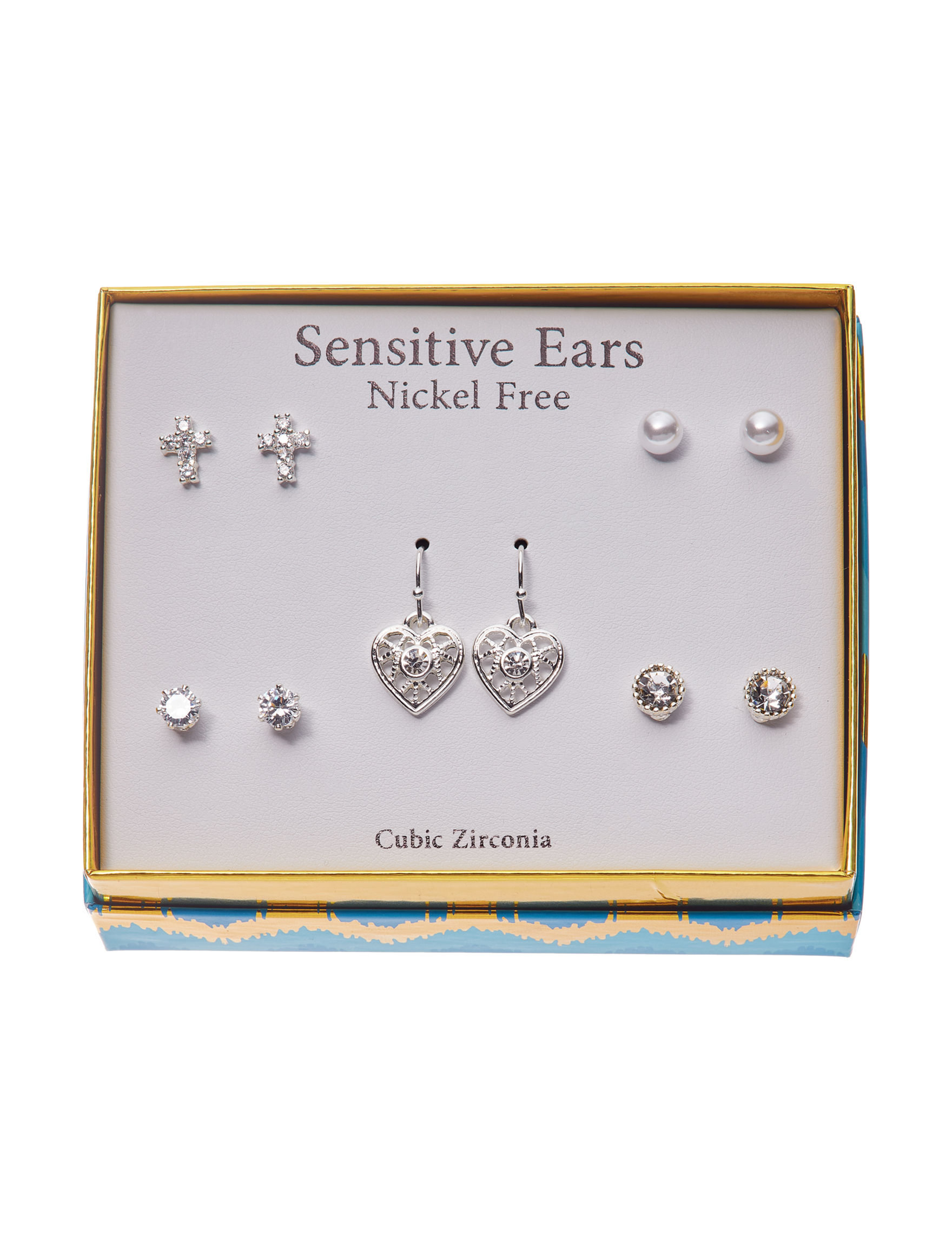 Fashion Accents Silver Earrings Fashion Jewelry