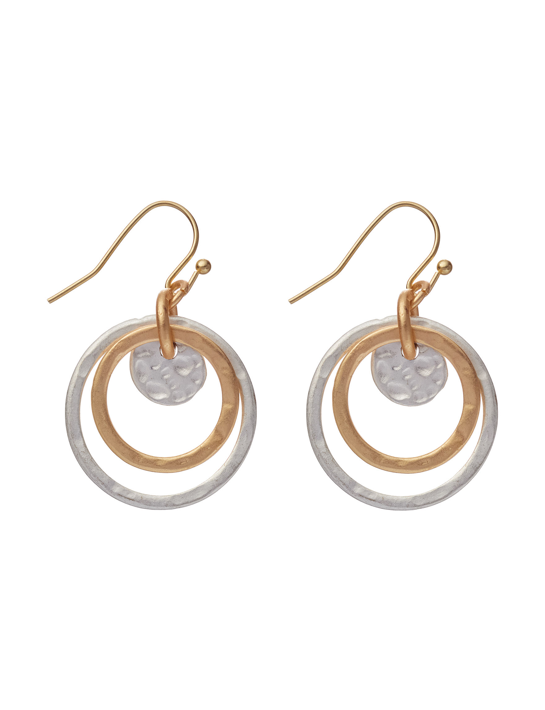 Hannah Silver / Gold Drops Earrings Fashion Jewelry