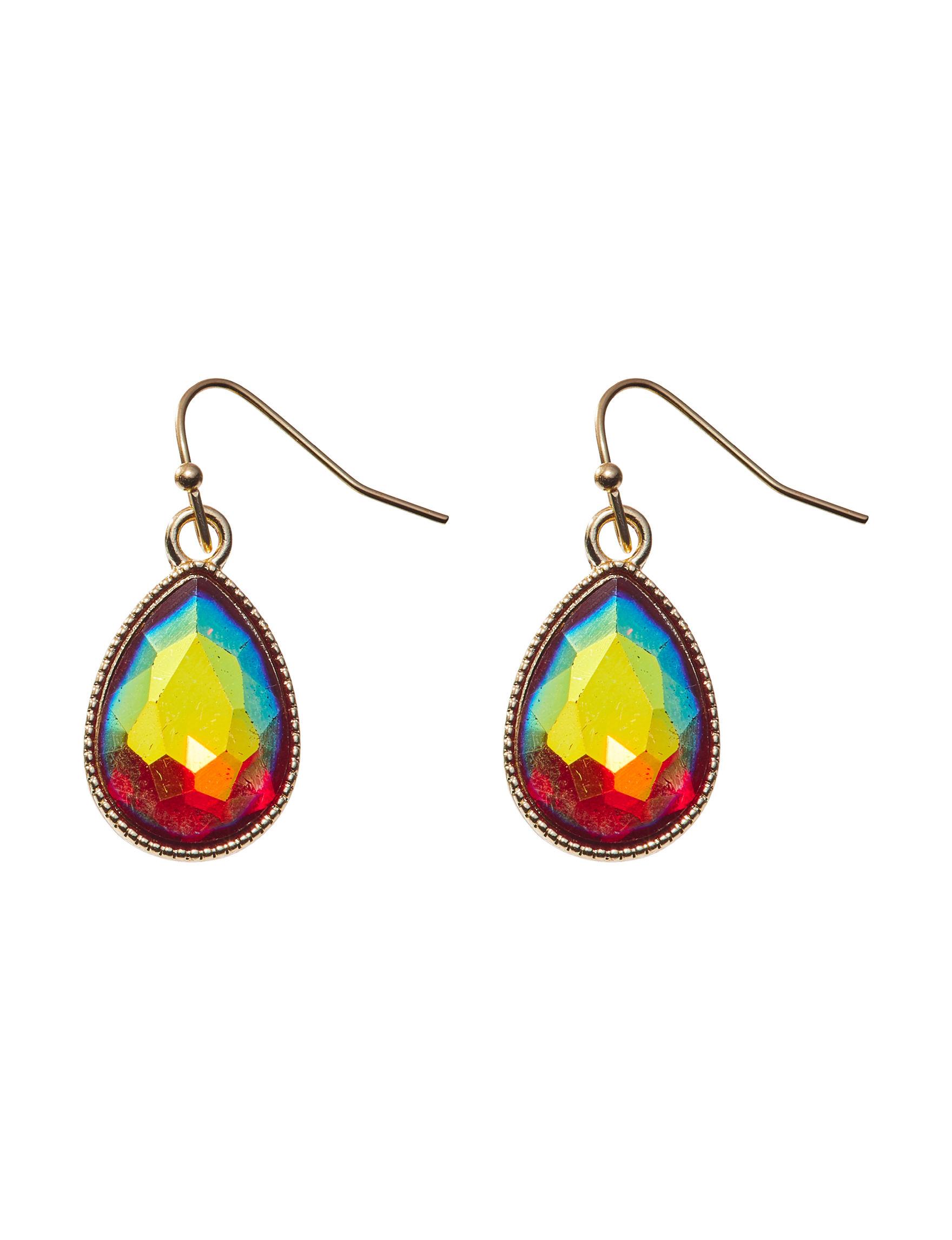 Hannah Gold / Stone Drops Earrings Fashion Jewelry