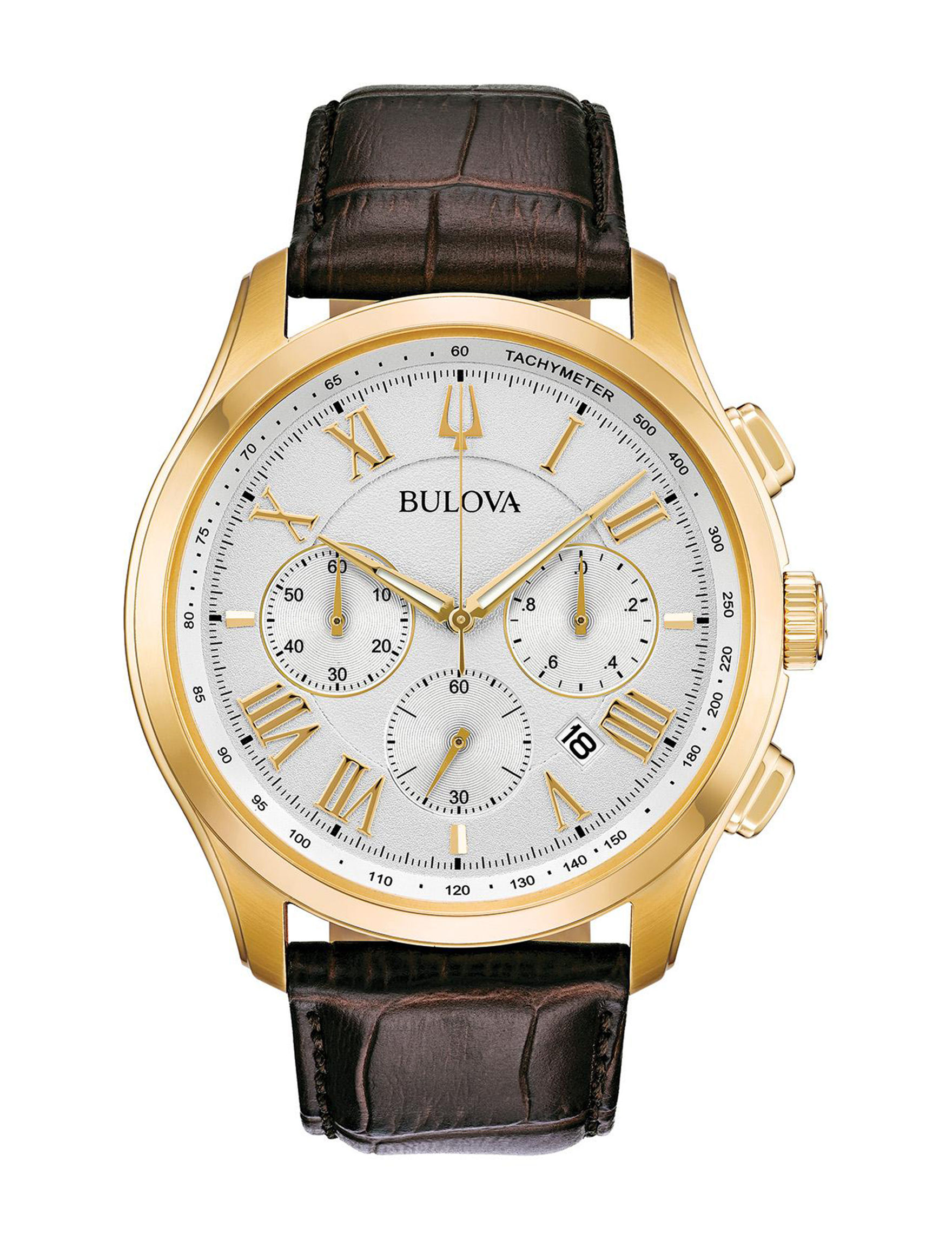 Bulova Brown / Multi Fashion Watches