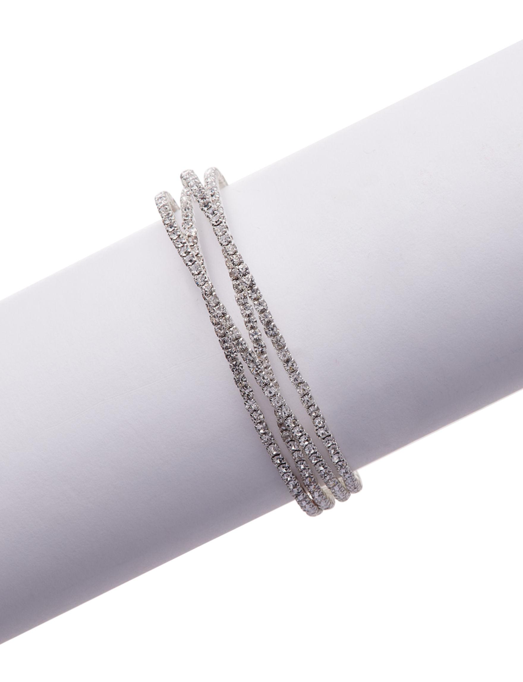 Via Roma Crystal Bracelets Fashion Jewelry