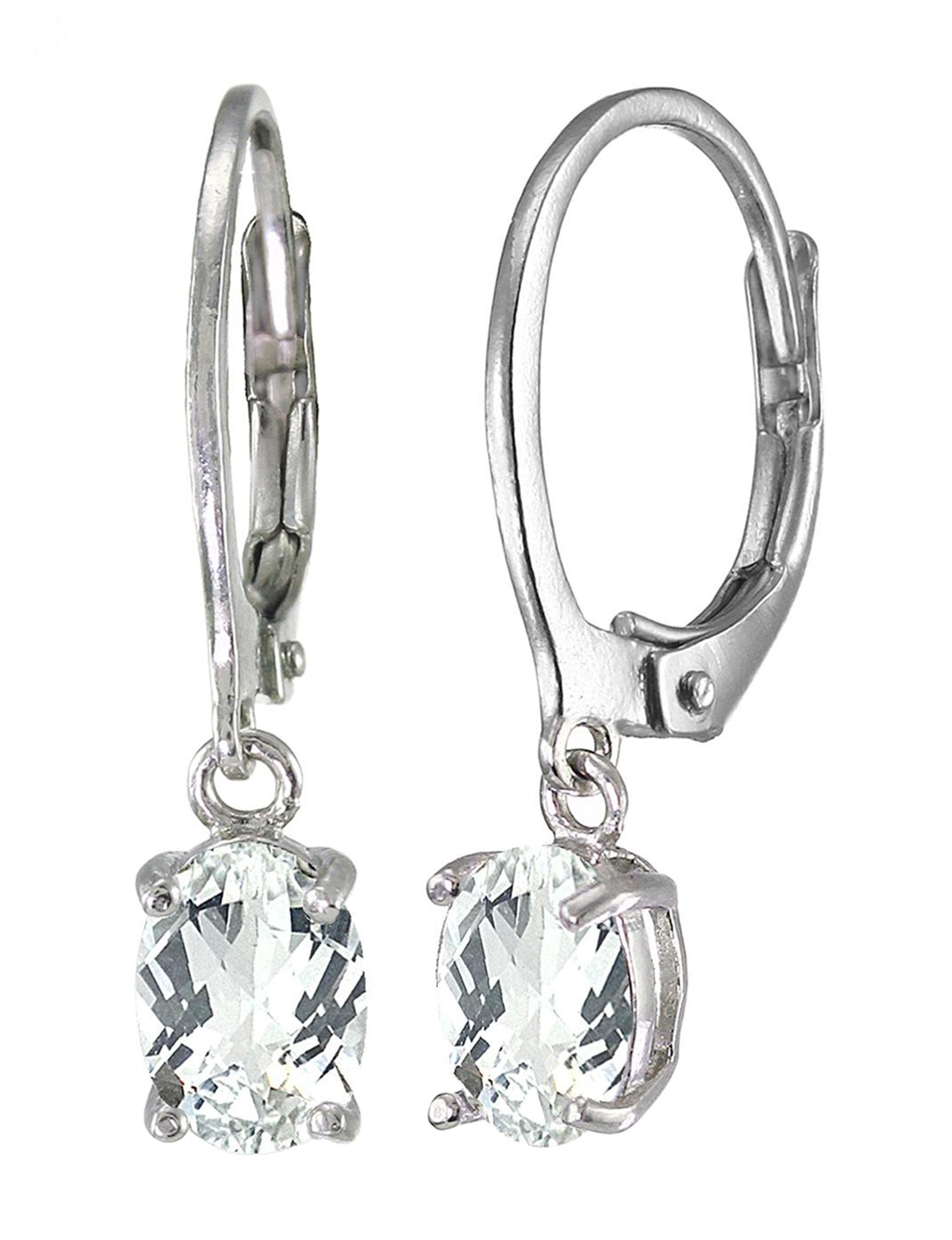 FMC Crystal Drops Earrings Fine Jewelry