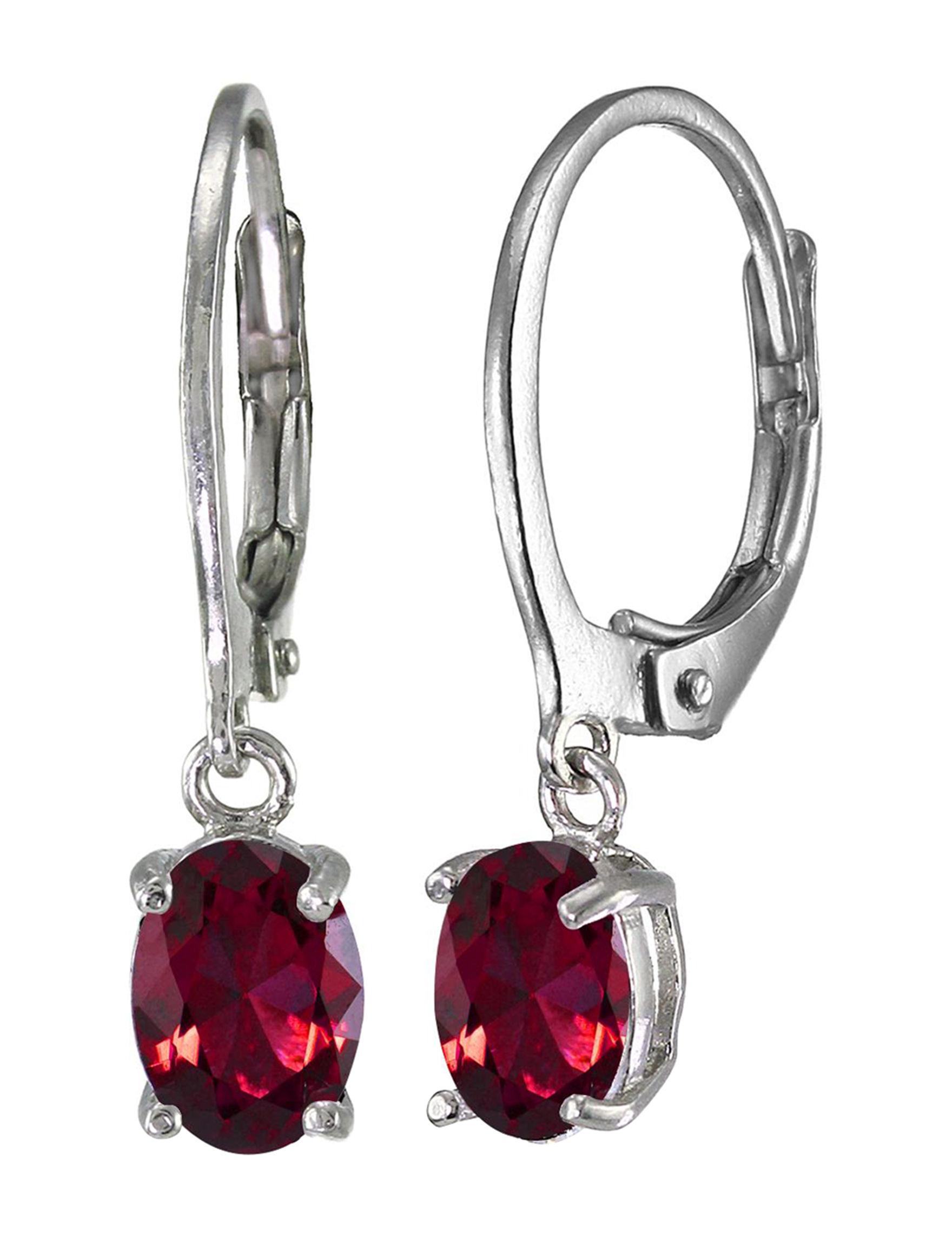 FMC Ruby Drops Earrings Fine Jewelry