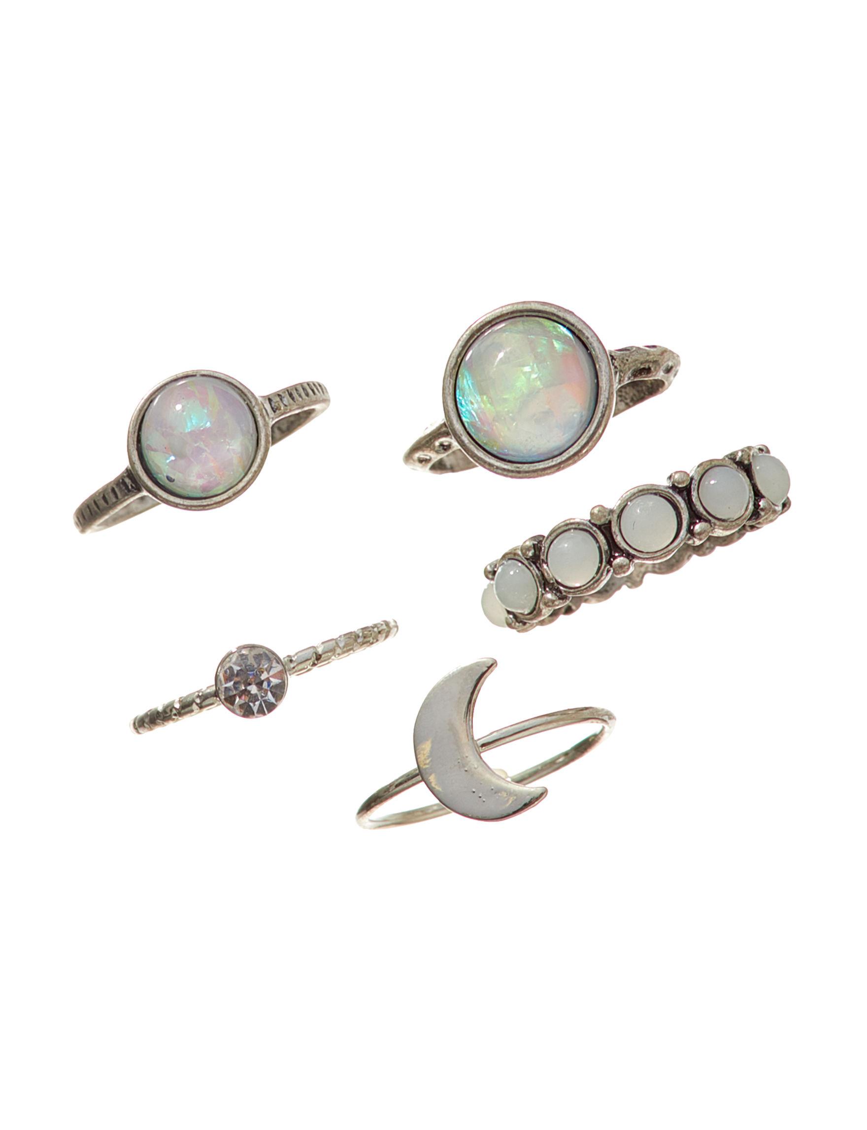 Hannah Silver Rings Fashion Jewelry