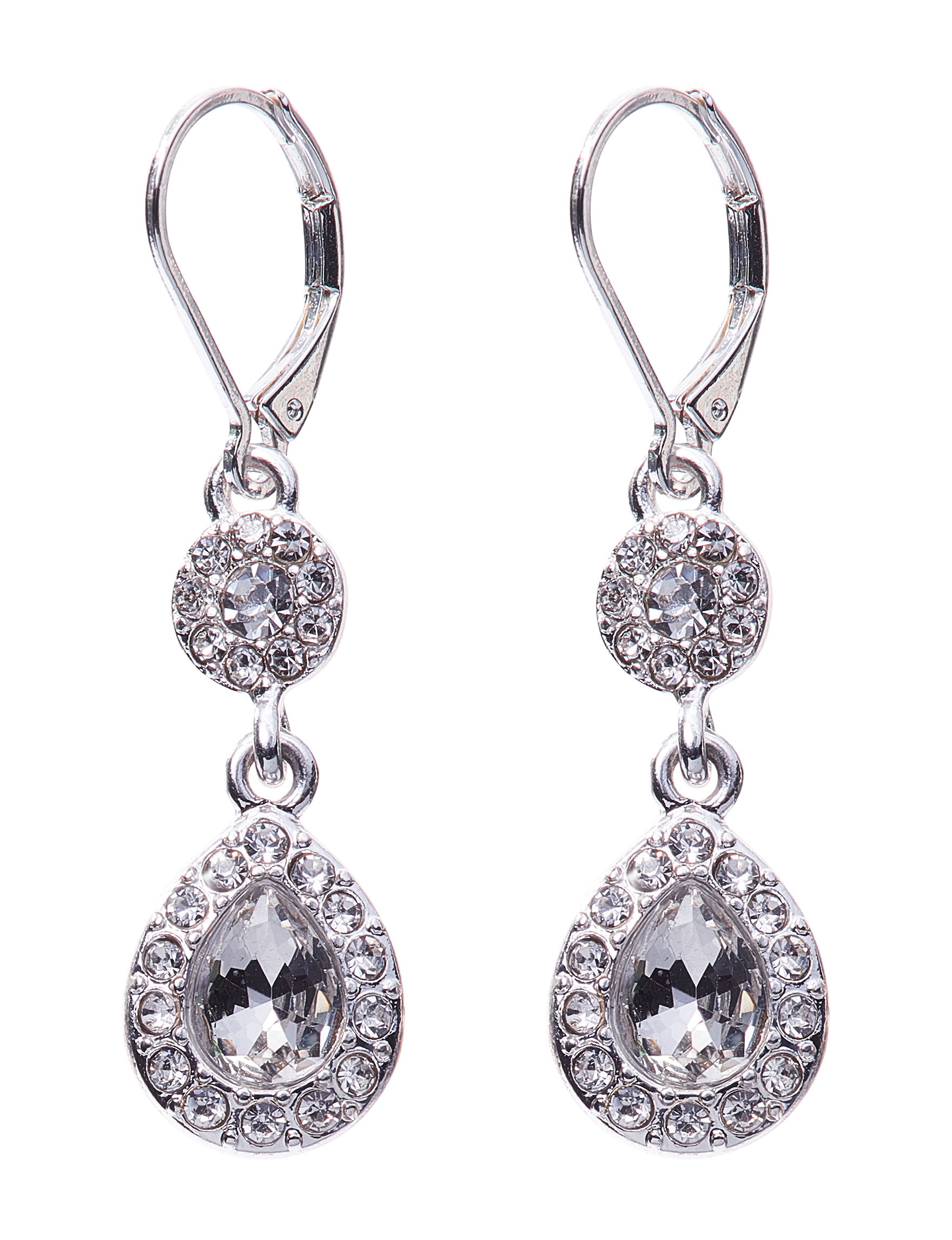 Napier Crystal Drops Earrings Fashion Jewelry