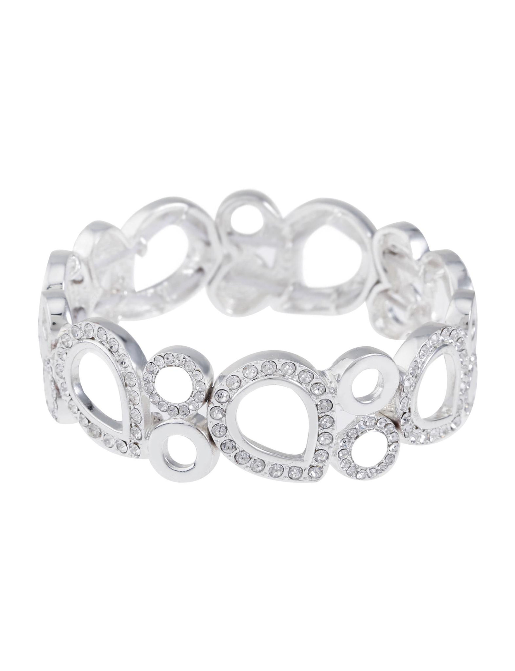 Gloria Vanderbilt Silver Bracelets Fashion Jewelry