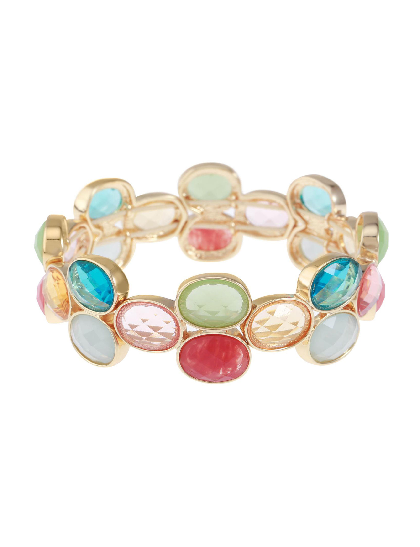 Gloria Vanderbilt Gold / Multi Bracelets Fashion Jewelry