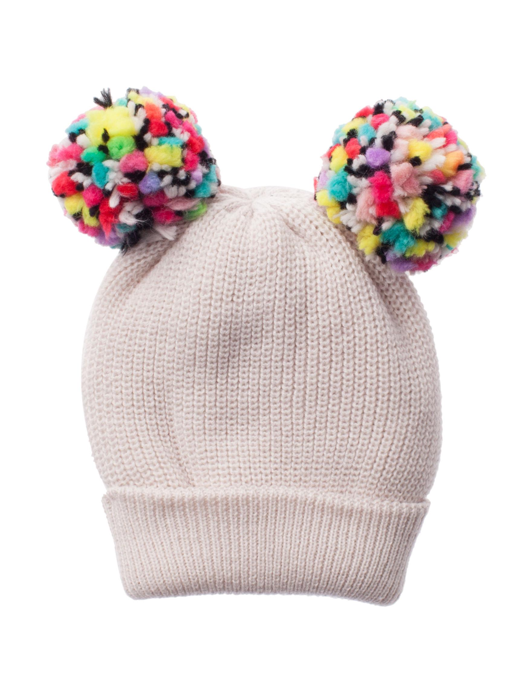 Betsey Johnson Beige Hats & Headwear