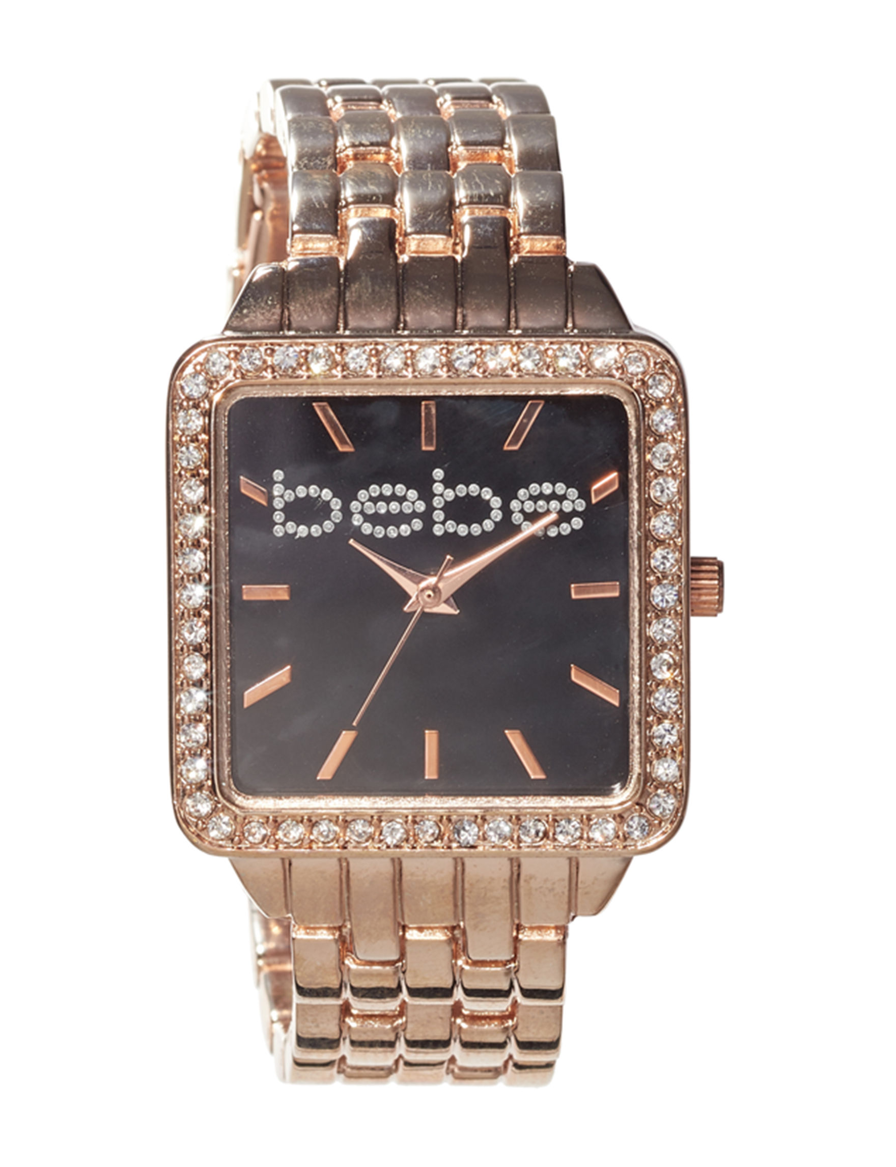 Bebe Rose Gold Fashion Watches