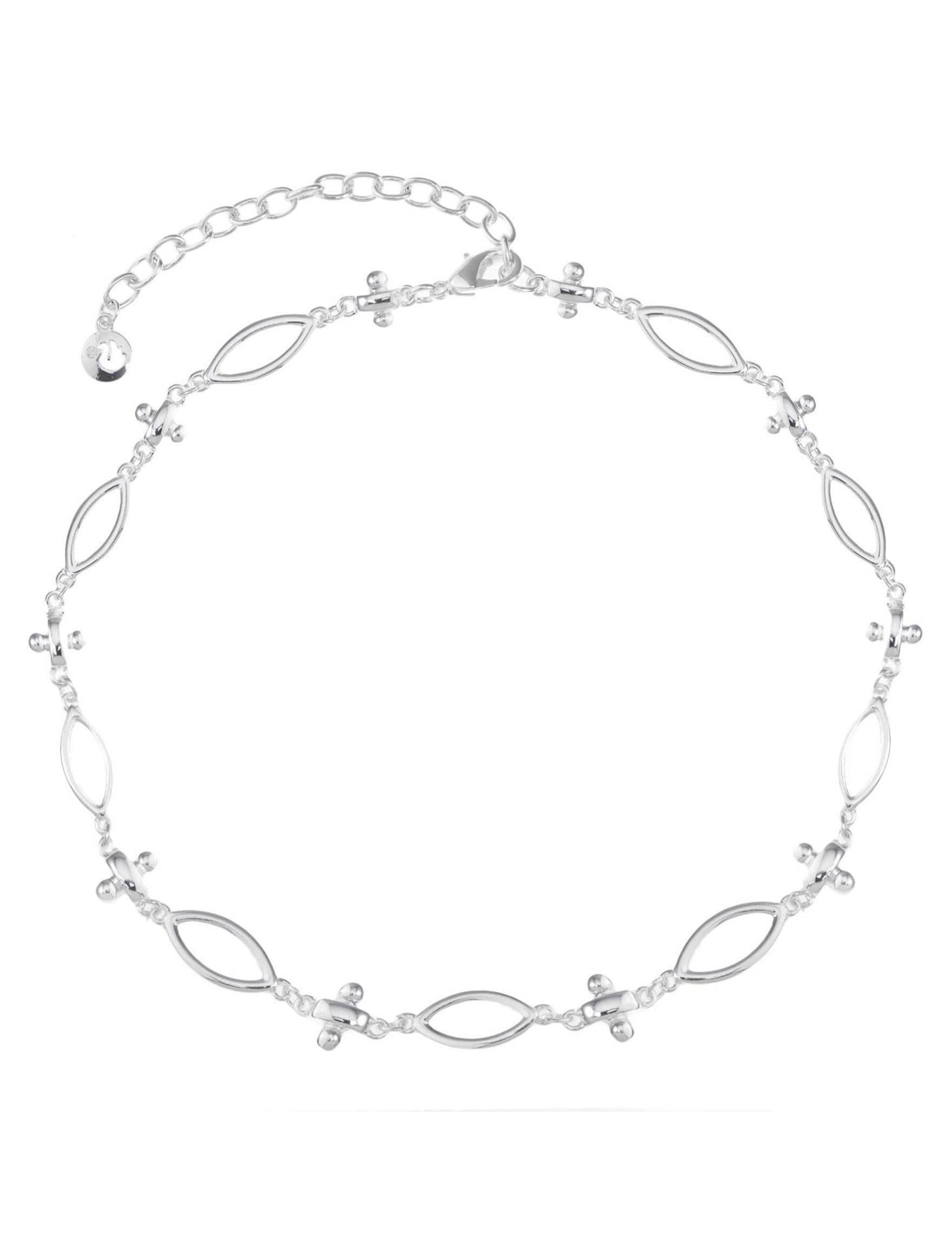 Gloria Vanderbilt Silver Necklaces & Pendants Fashion Jewelry