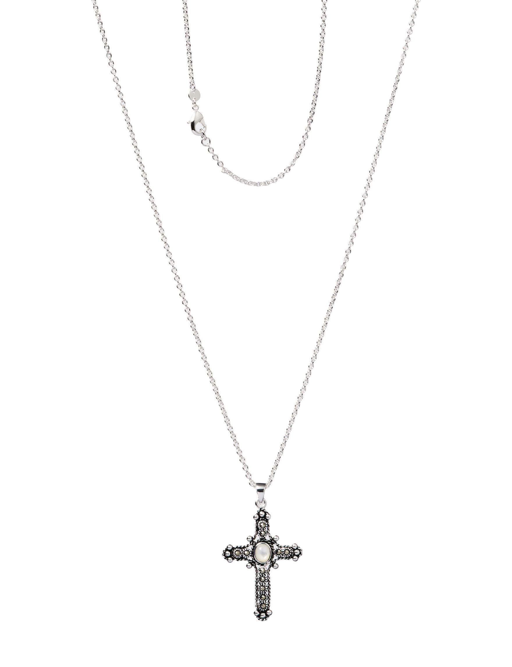 Marsala Marcasite Necklaces & Pendants Fine Jewelry