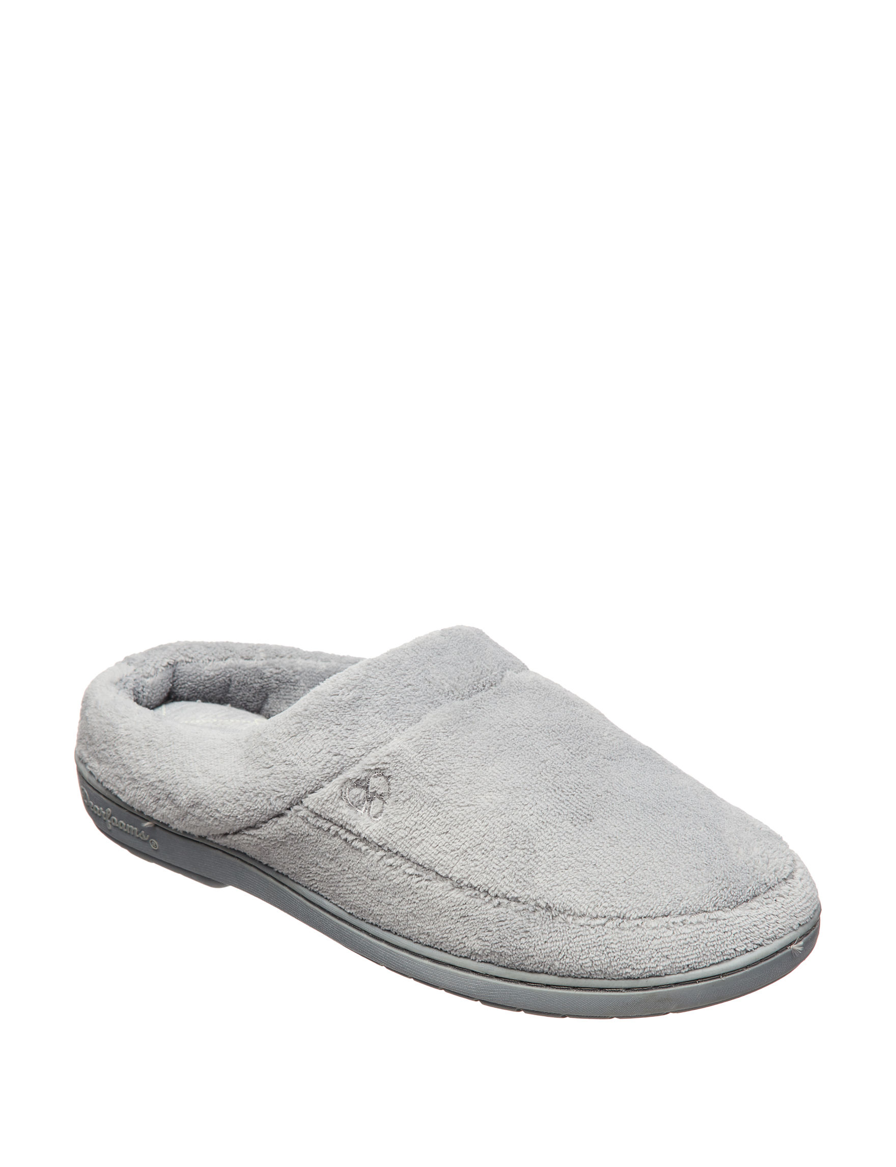 Dearfoams Grey Slipper Shoes
