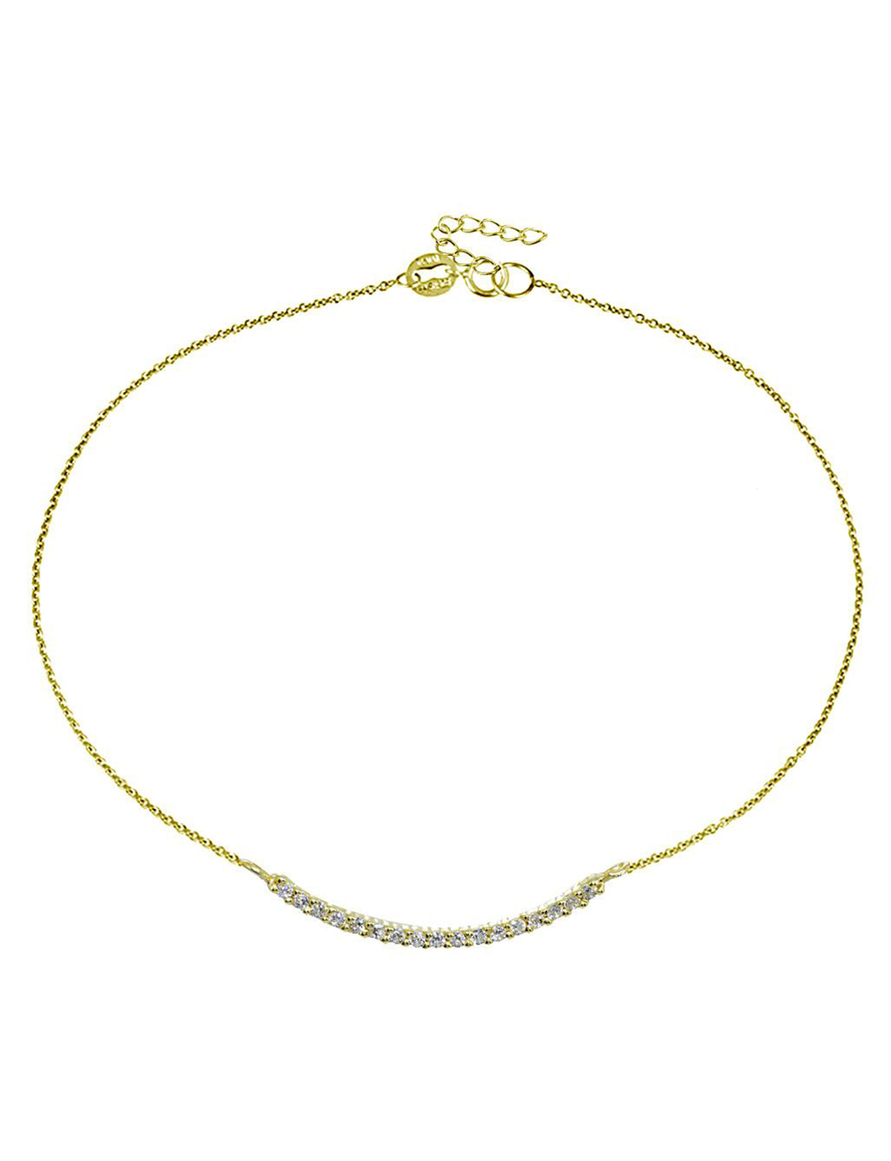 FMC Gold Anklets Fine Jewelry