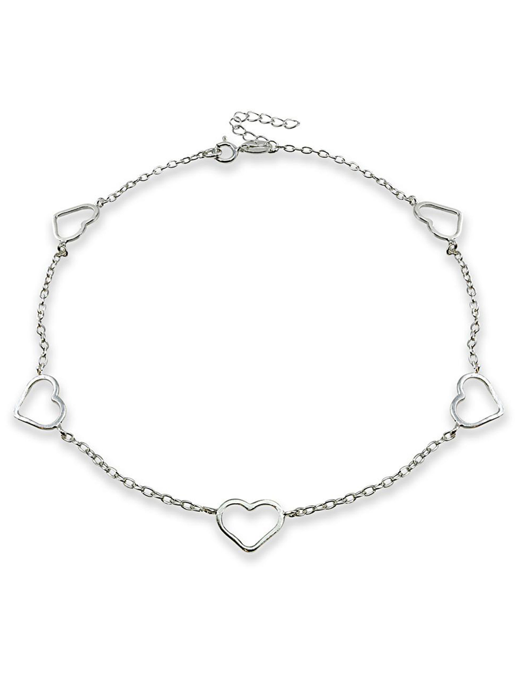 FMC Sterling Silver Anklets Fine Jewelry