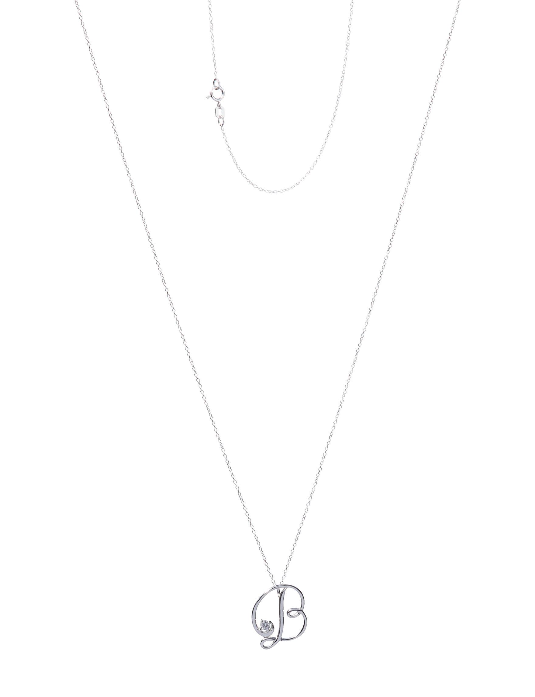 Marsala Sterling Silver Necklaces & Pendants Fine Jewelry