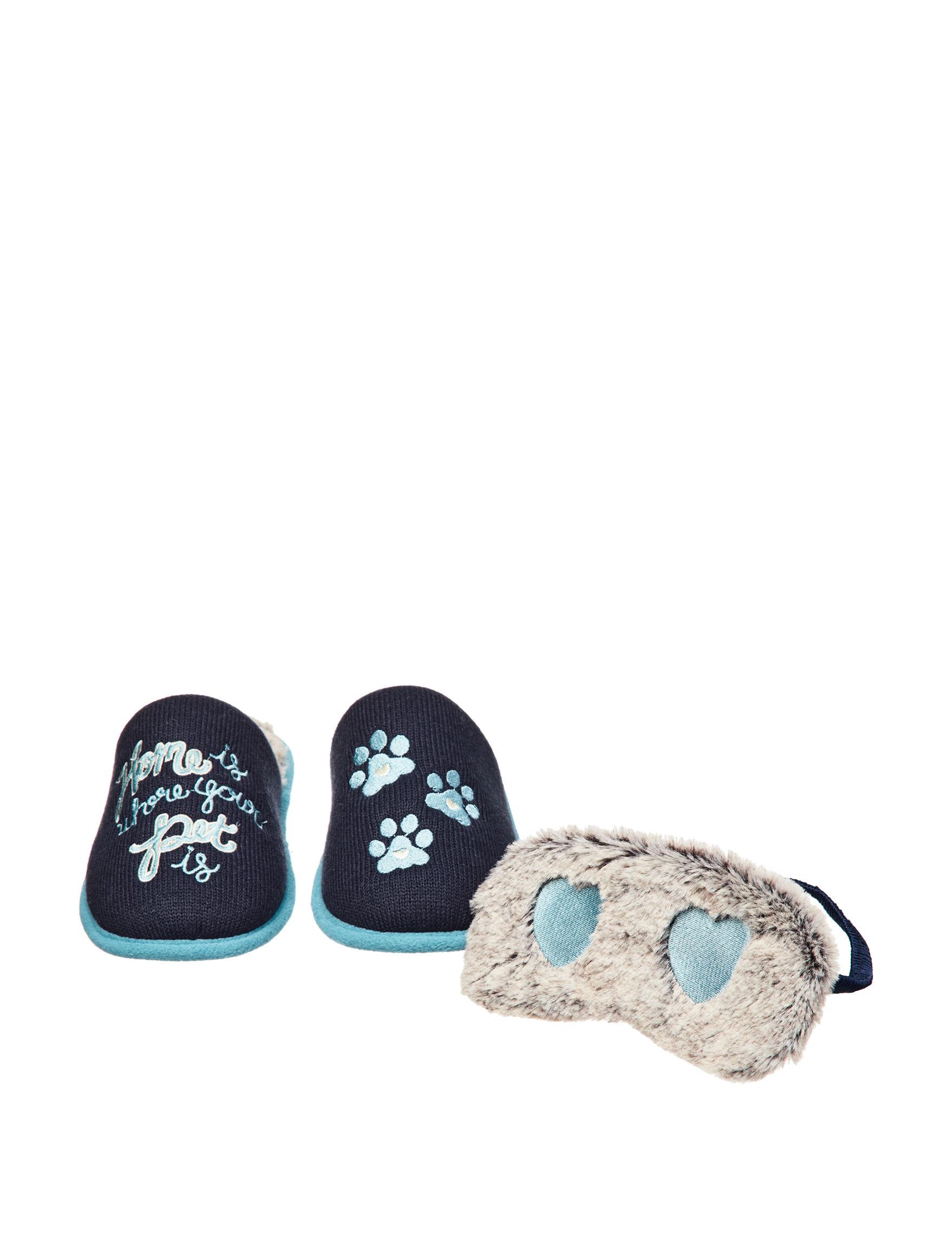 Dearfoams Navy Slipper Shoes