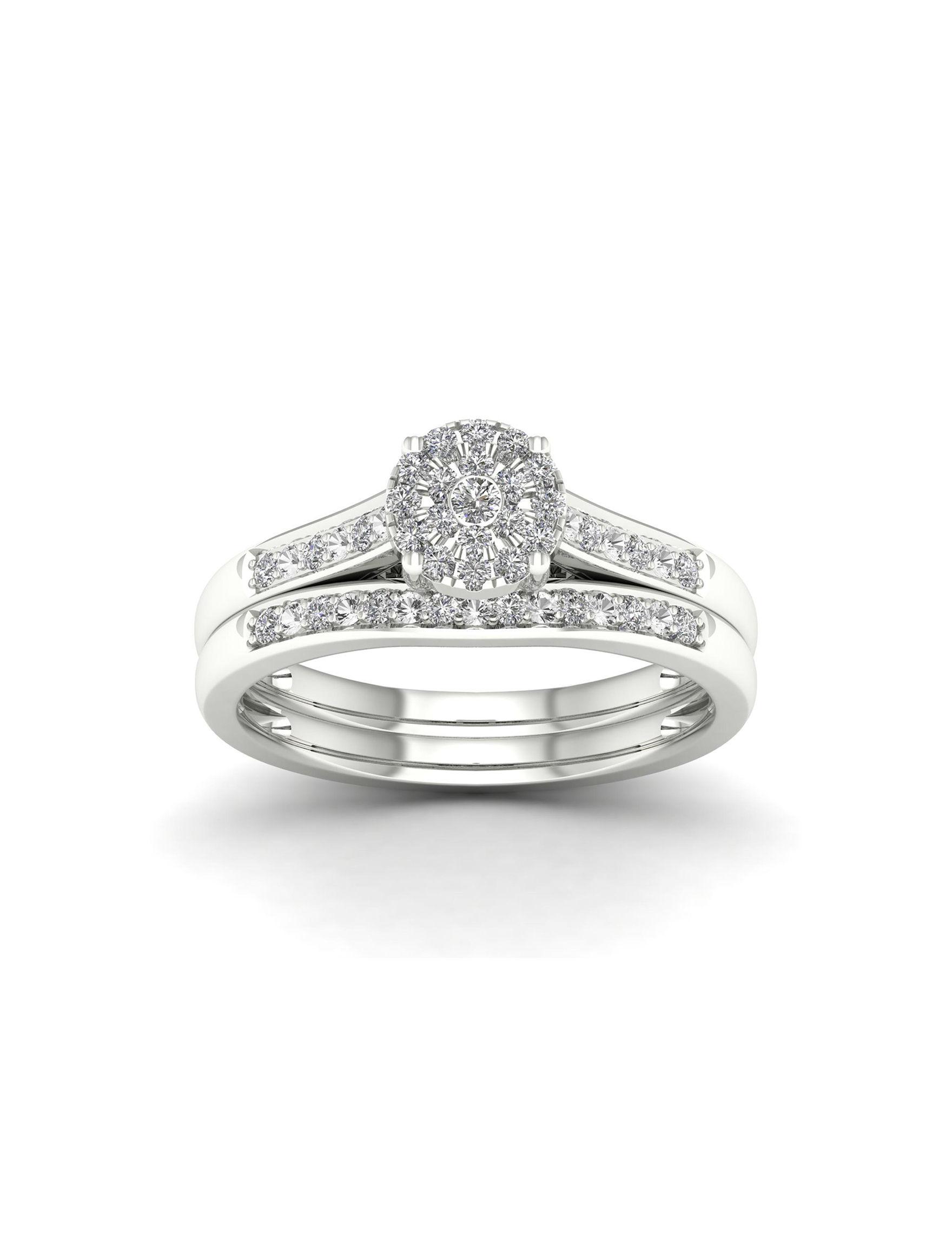 De Couer Sterling Silver Rings Fine Jewelry