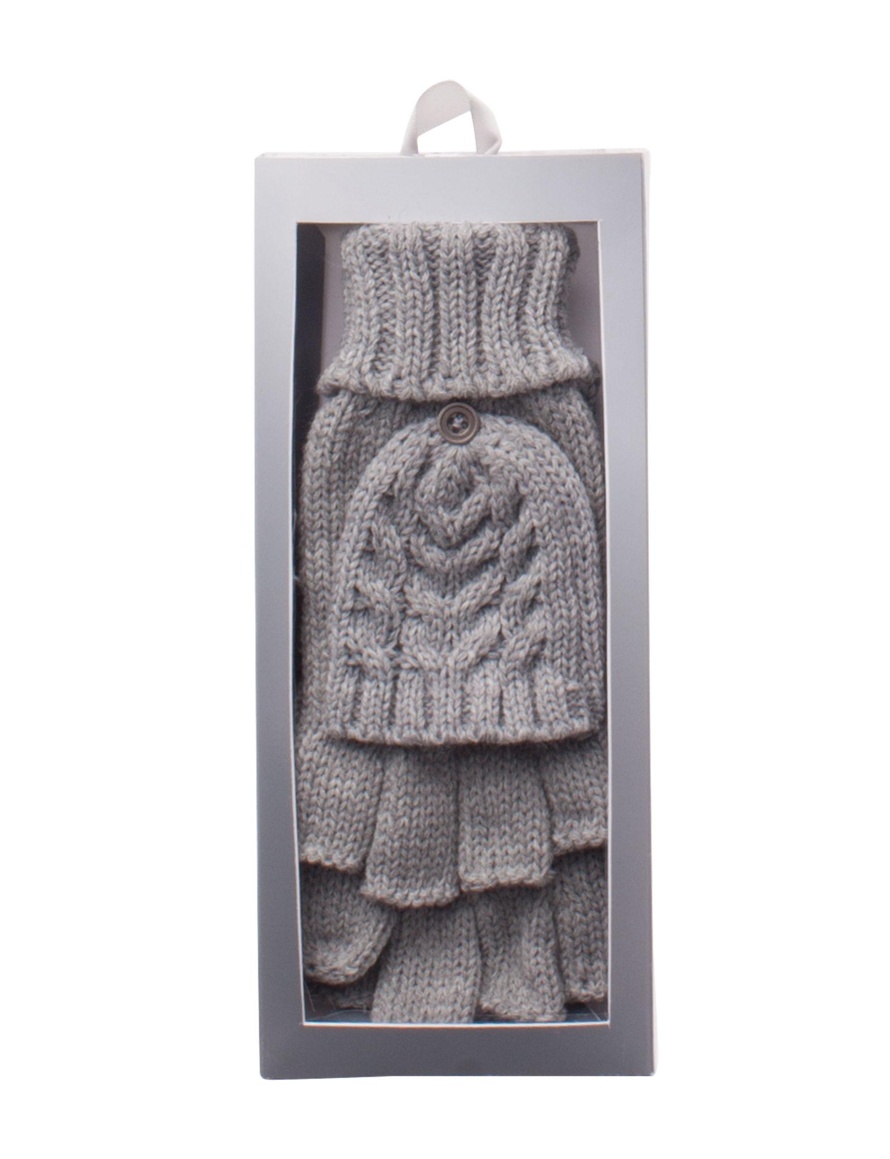 Amiee Lynn Grey Gloves & Mittens